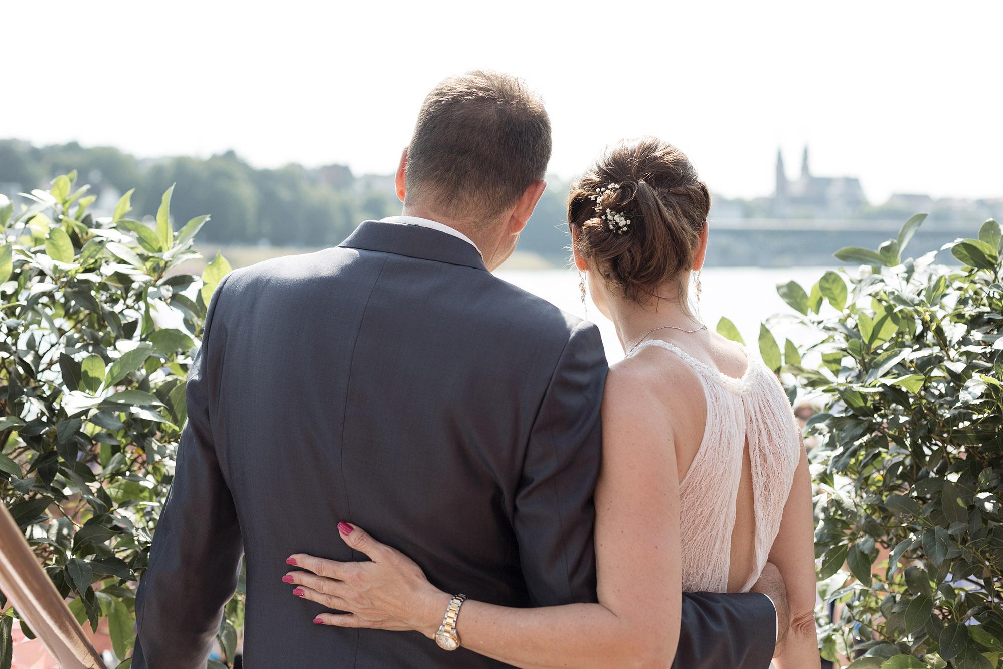 Hochzeit auf der MS Christoph Merian