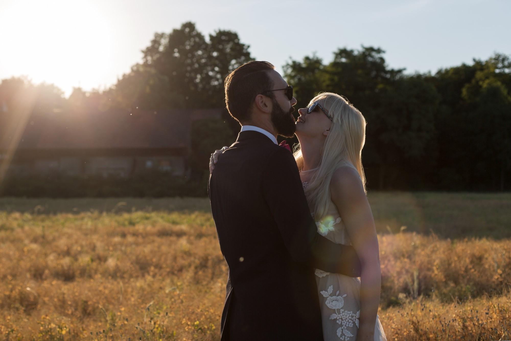 Romantisches Fotoshooting mit einem bezaubernden Paar