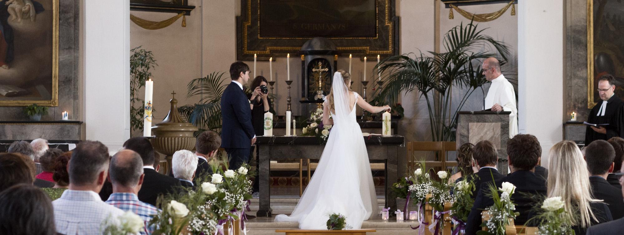 Kirchliche Trauung Nicole und Leander