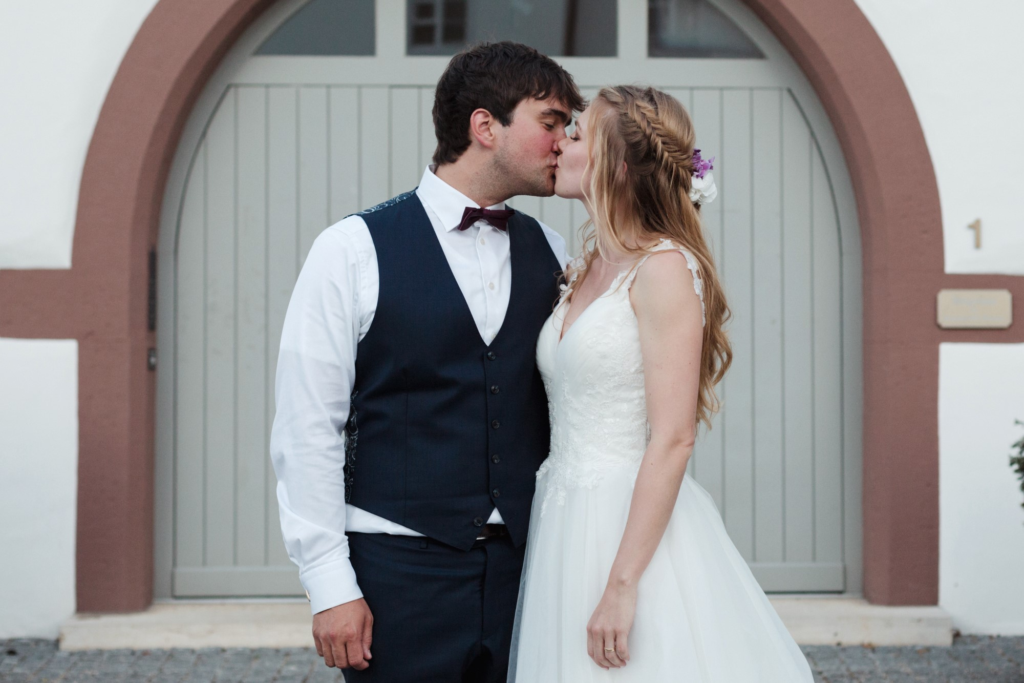 Das Brautpaar in Binningen