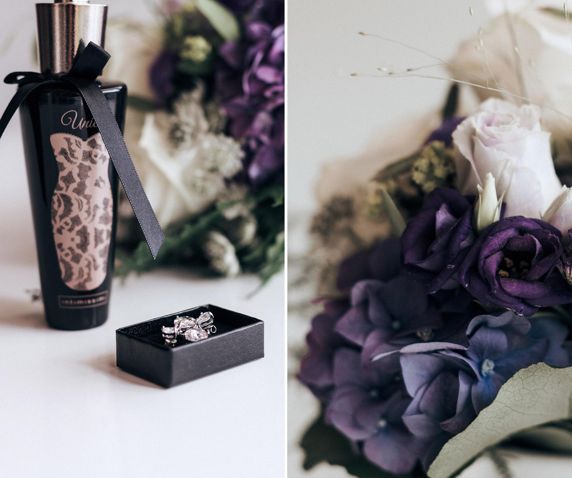 Detailfotografie Accessoires der Braut