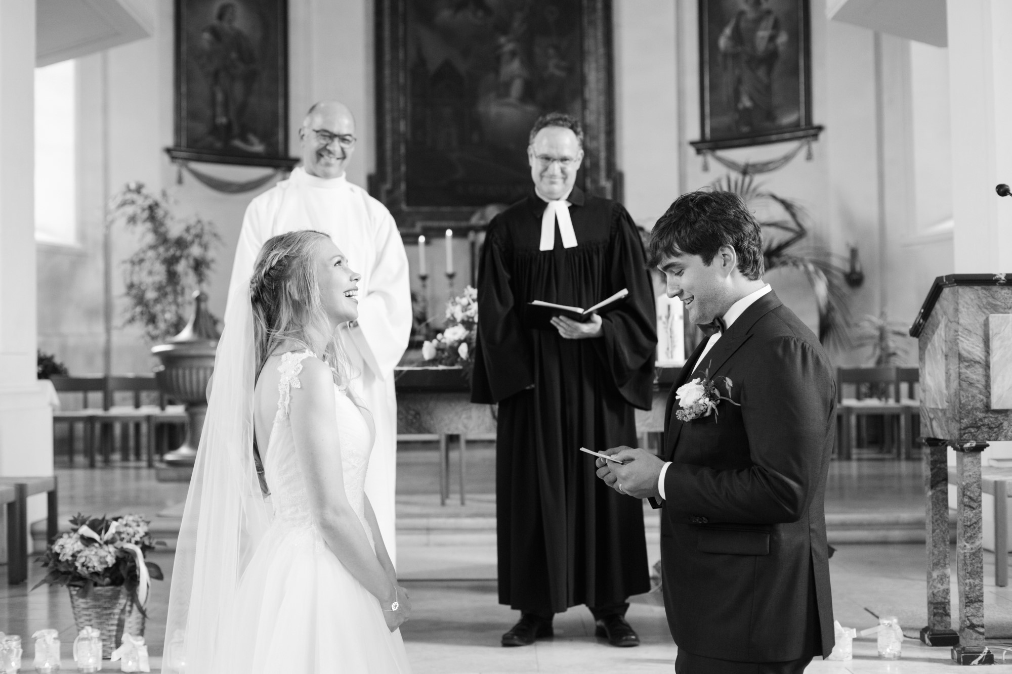 Eheversprechen an die Braut