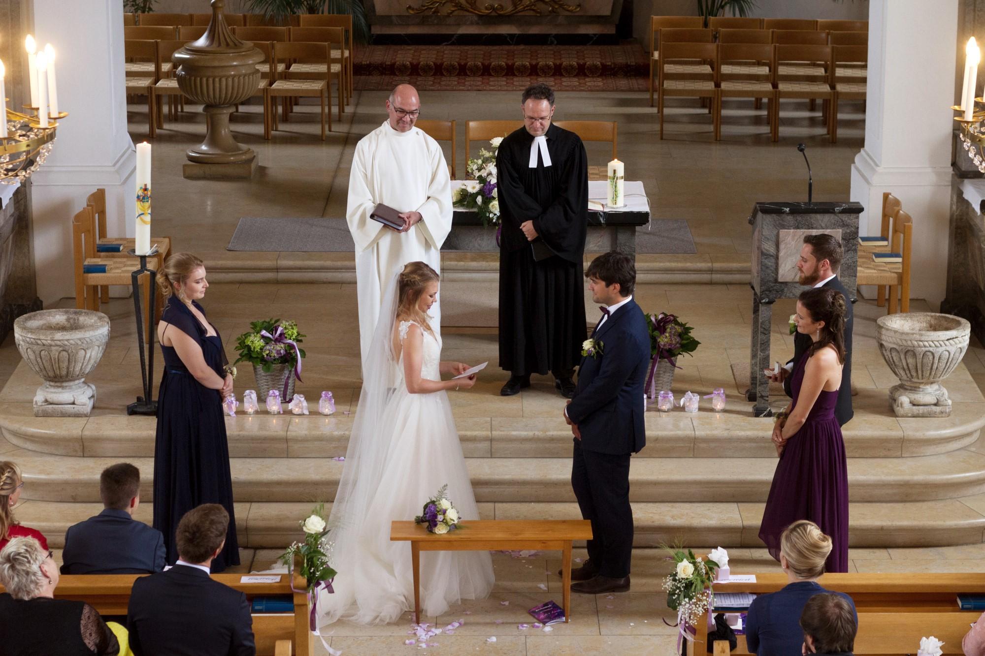 Das Eheversprechen der Braut an den Bräutigam