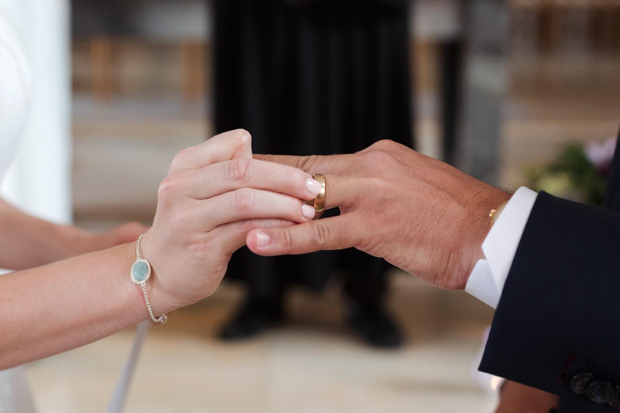 Der Ringtausch in der Kirche