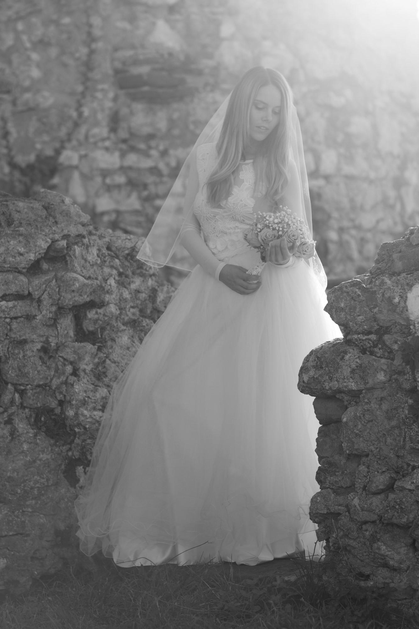 Romantisches Fotoshooting mit Tanja auf der Ruine Dorneck
