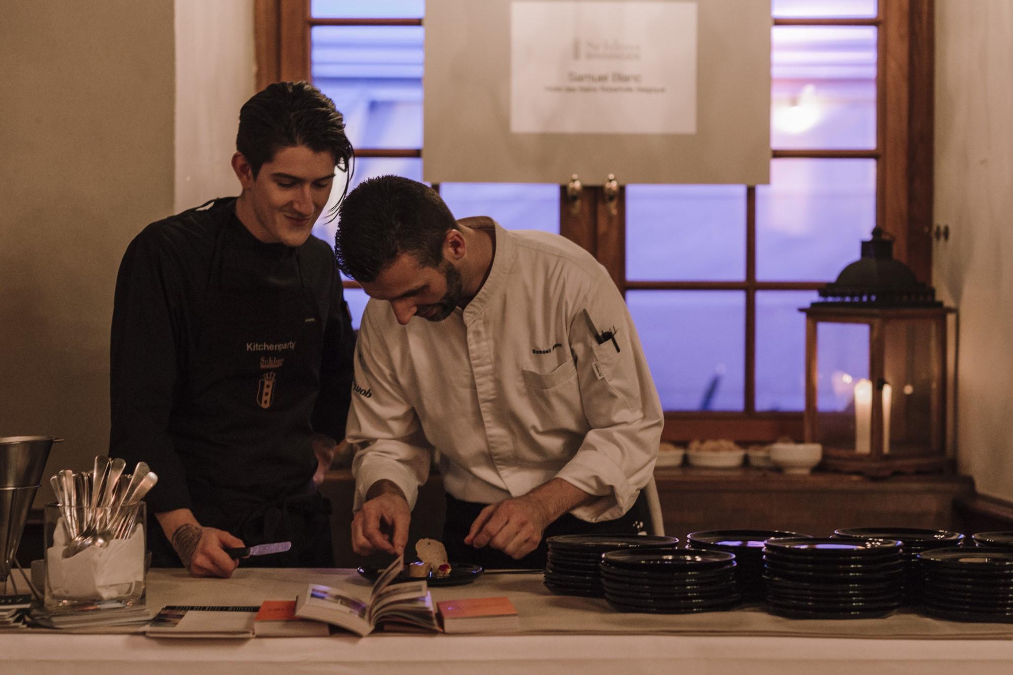 Samuel Blanc bei der Kitchen Party