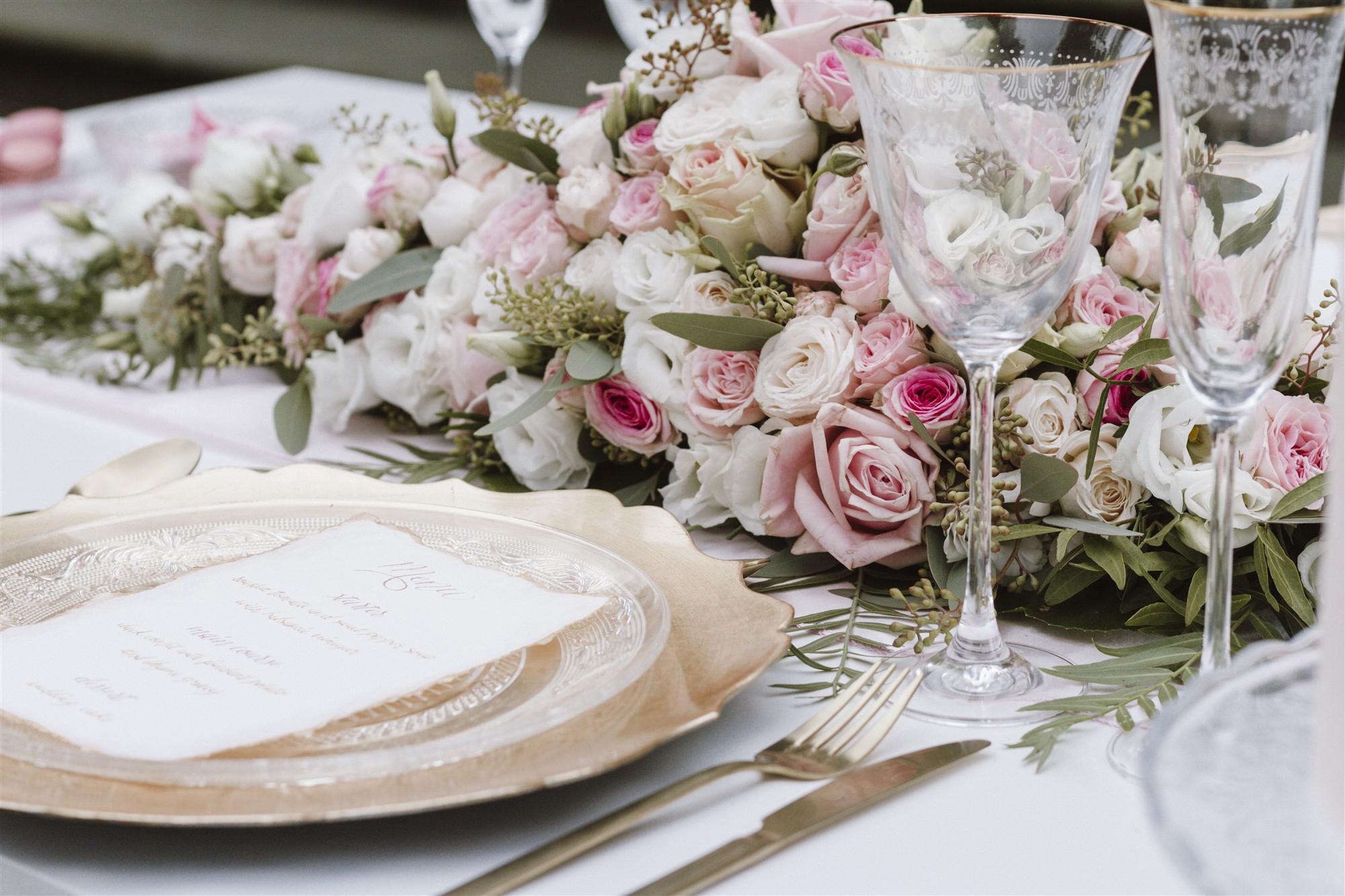 Detail Fotografie Hochzeitsdekoration