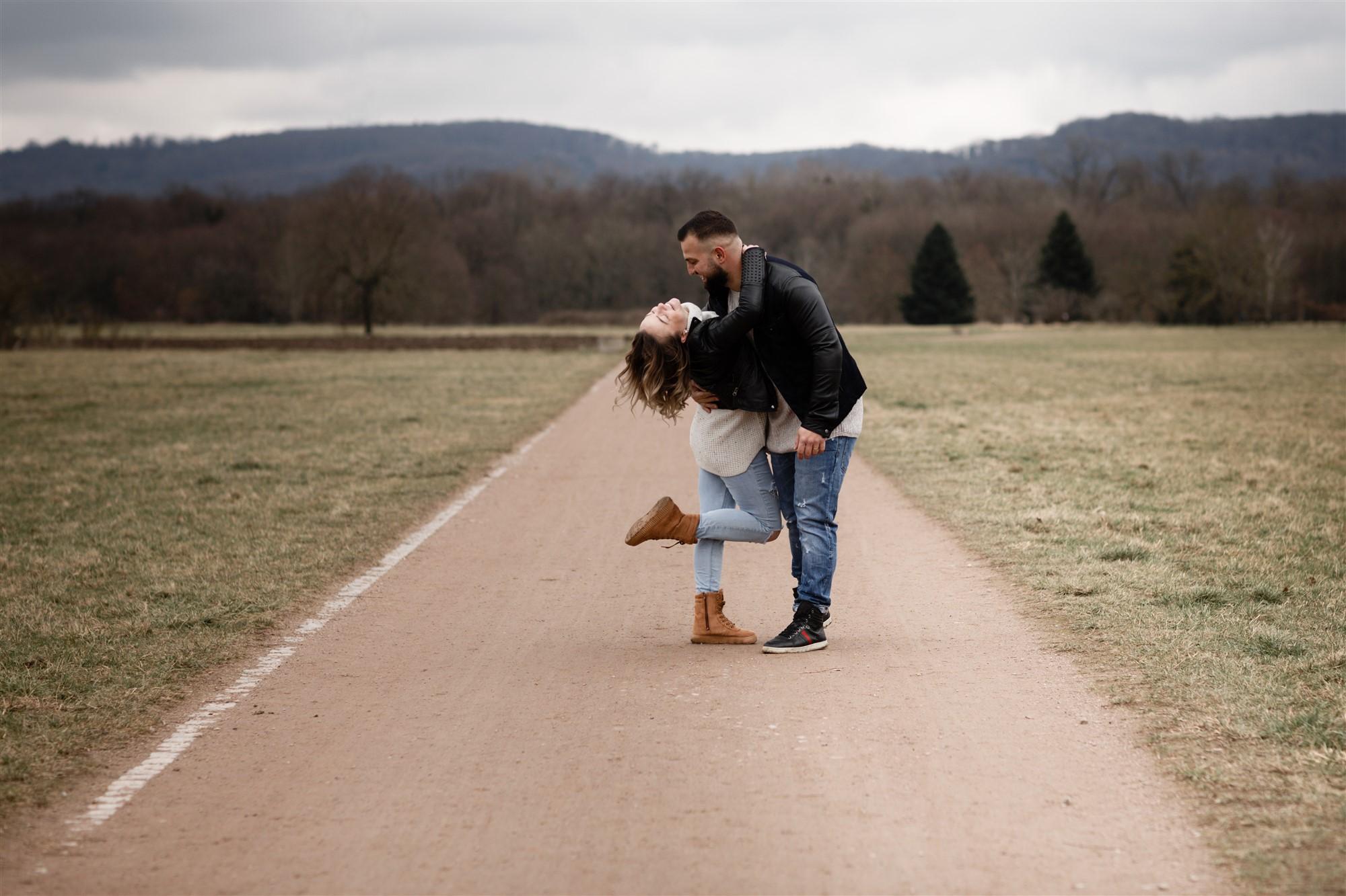Romantisches Paar Fotoshooting mit Bianca und Selcuk