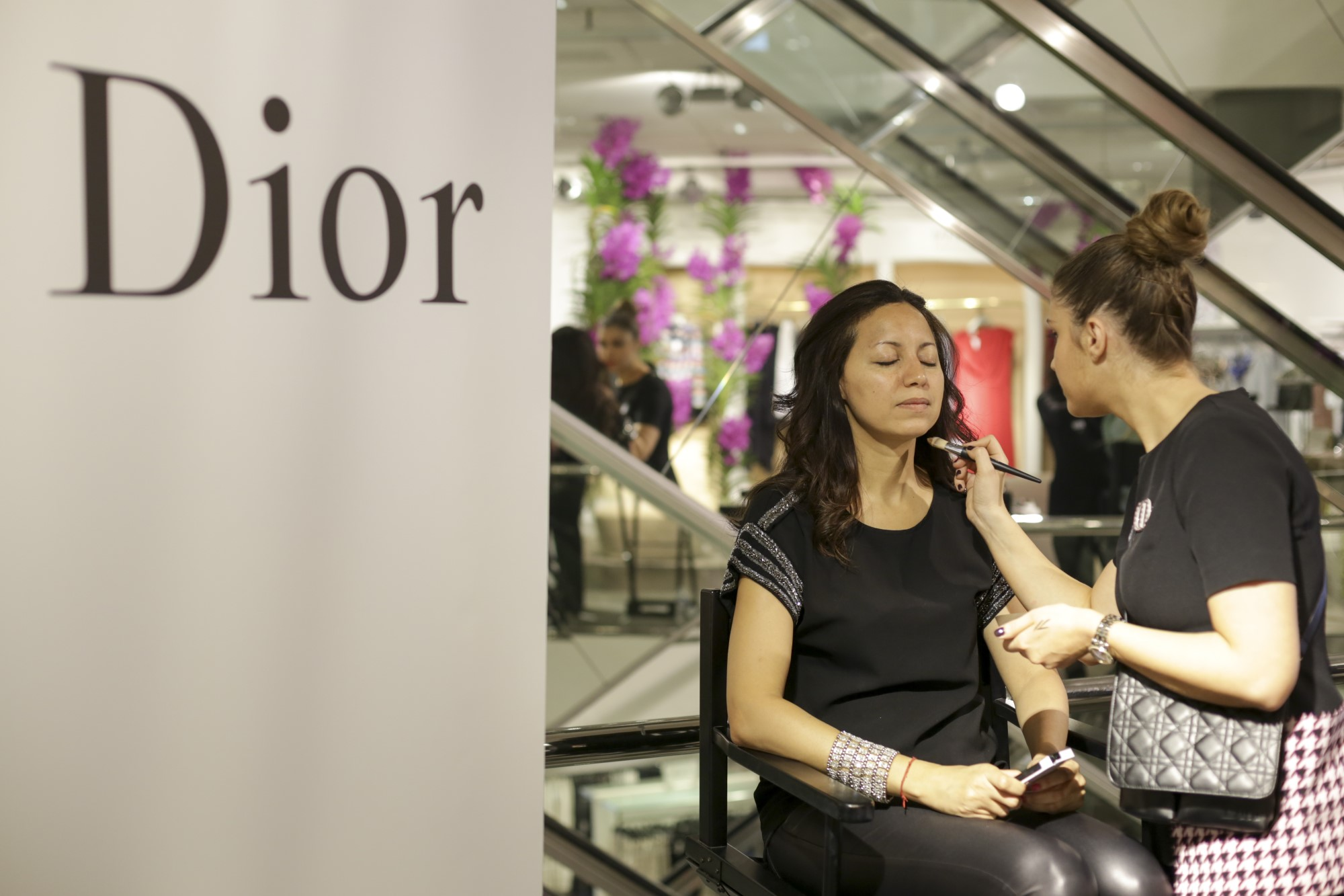 Dior Makeup beim PKZ Event