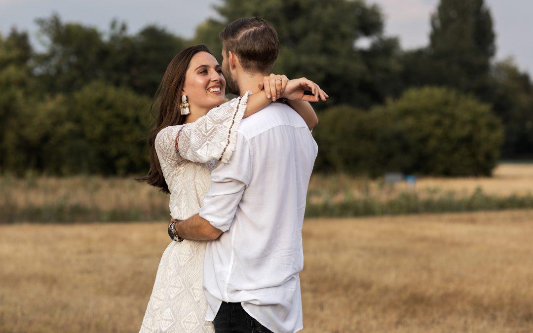 Romantisches Fotoshooting
