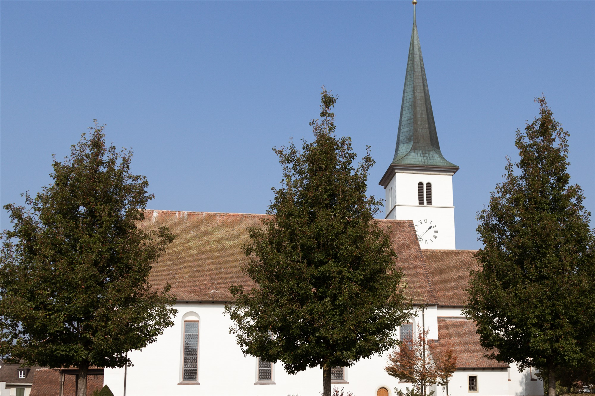 Die Kirche in Therwil