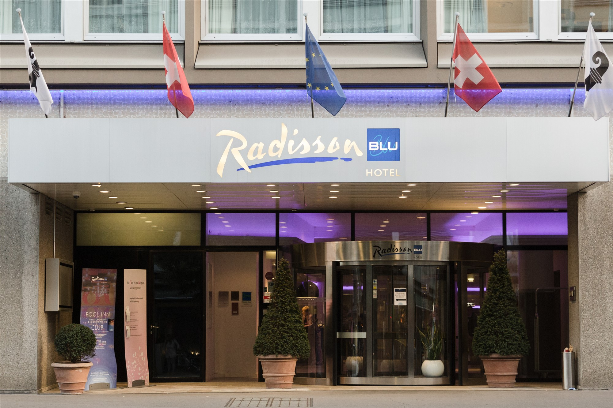 Hotel Radisson Blu in Basel
