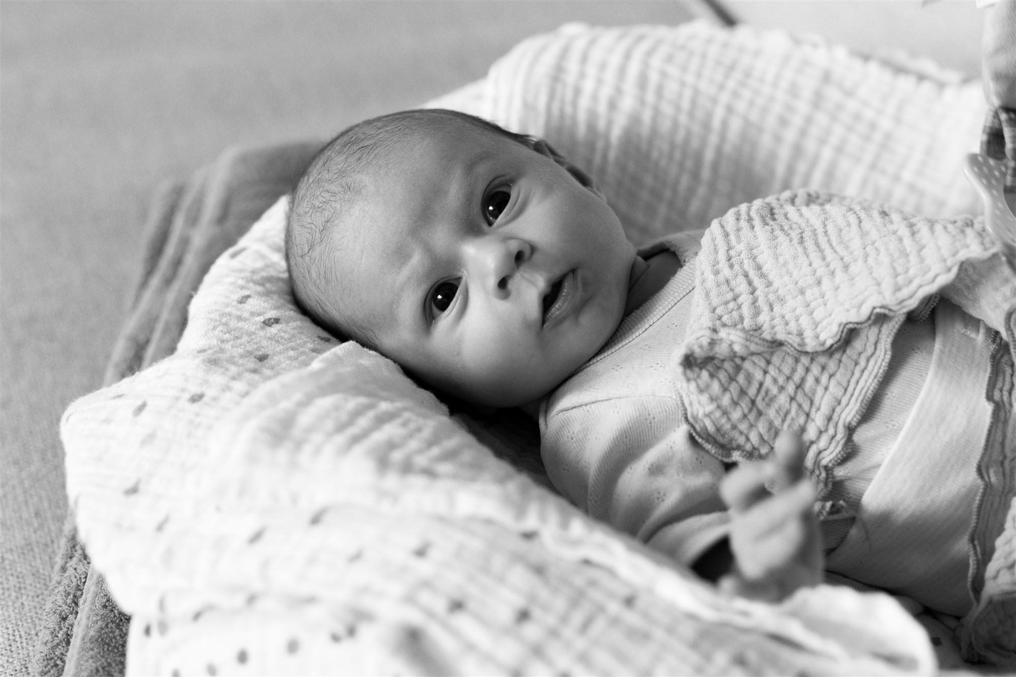 Newborn Homestory Fotoshooting - Das süsse Baby Raylin