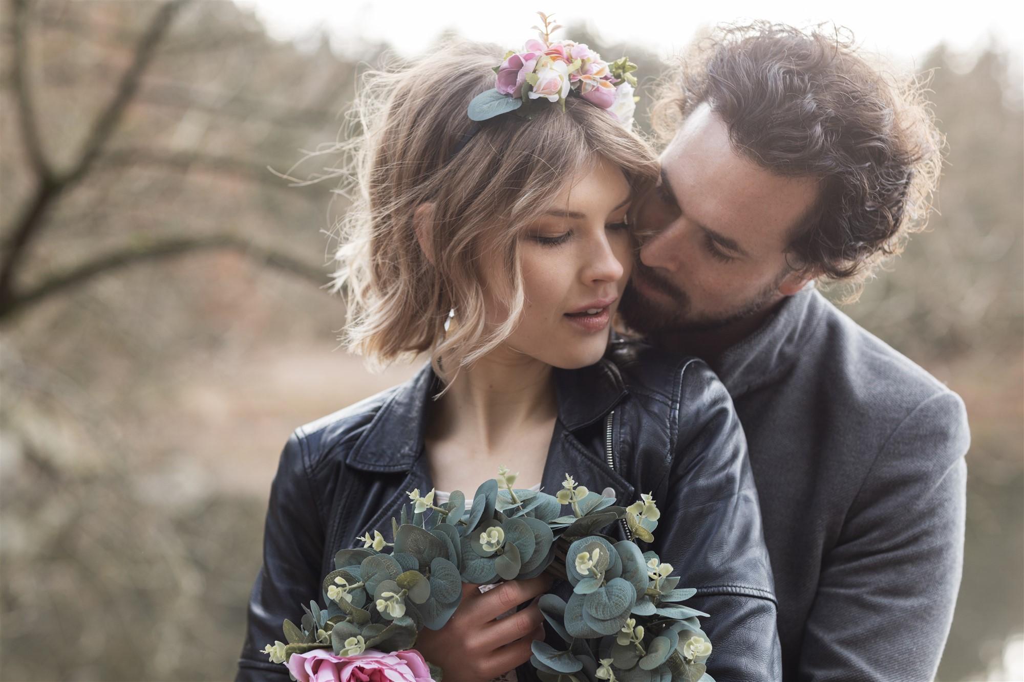 Romantisches Fotoshooting bei der Hochzeitsfotografin Nicole.Gallery aus Basel