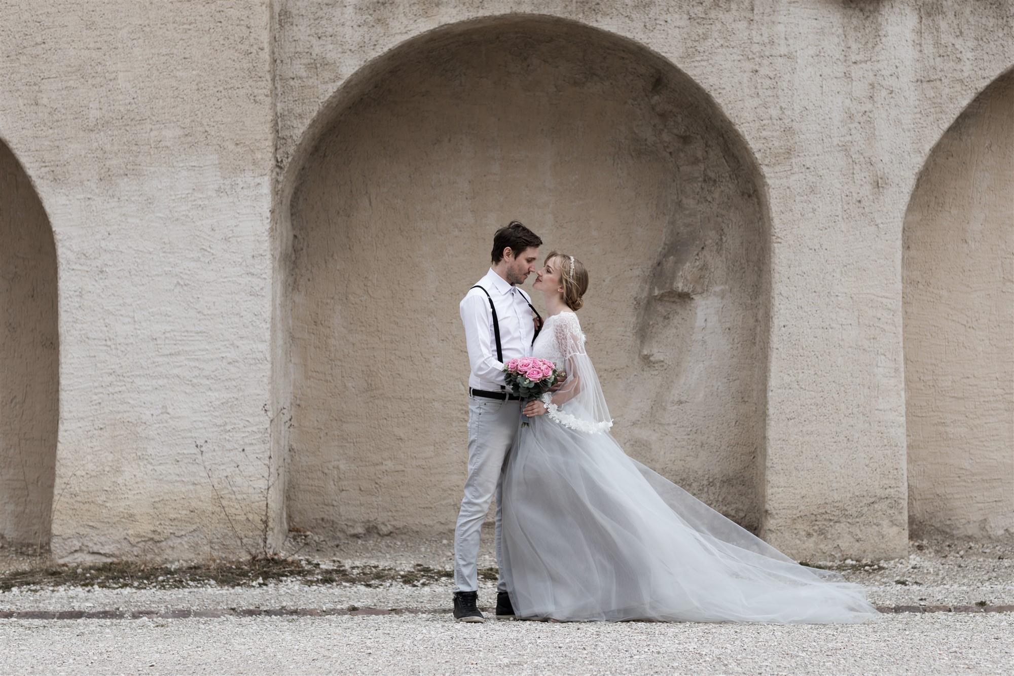 Paar Fotoshooting im schönen Basel bei der Hochzeitsfotografin Nicole Kym