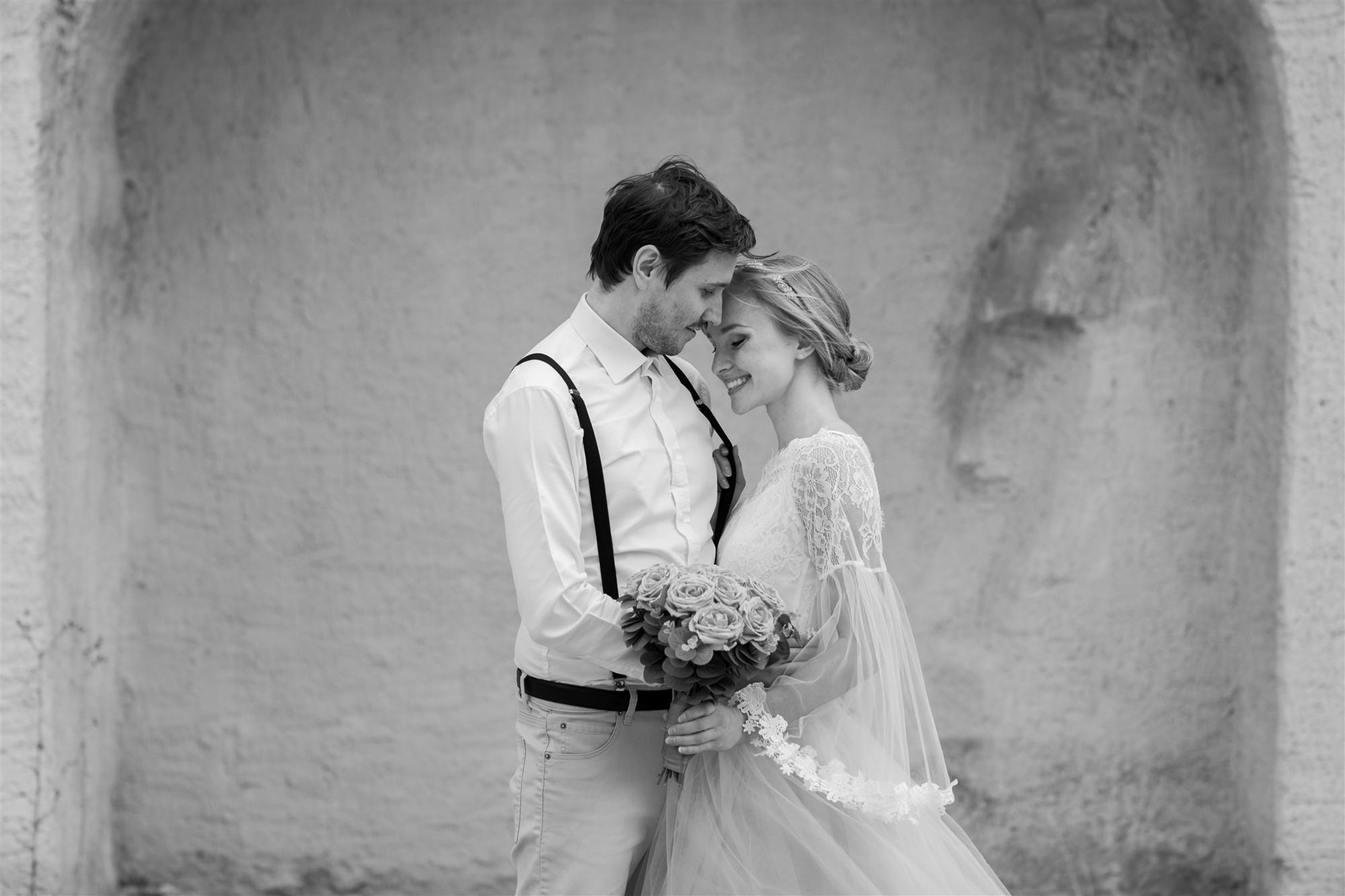 Paar Fotoshooting im schönen Basel bei der Hochzeitsfotografin Nicole.Gallery aus Basel
