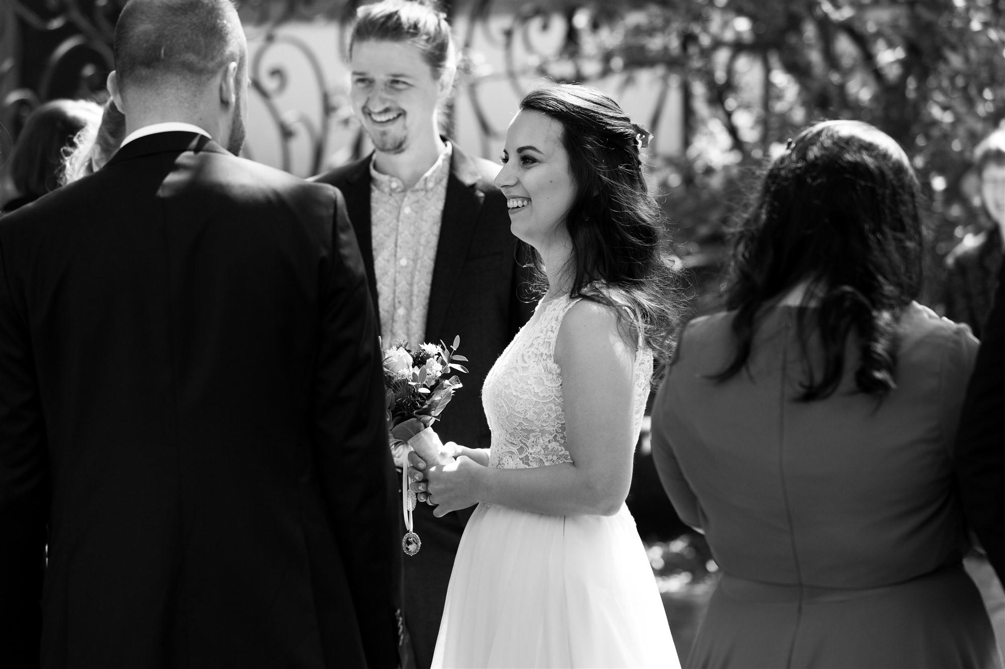 Hochzeitsapero nach der zivilen Trauung