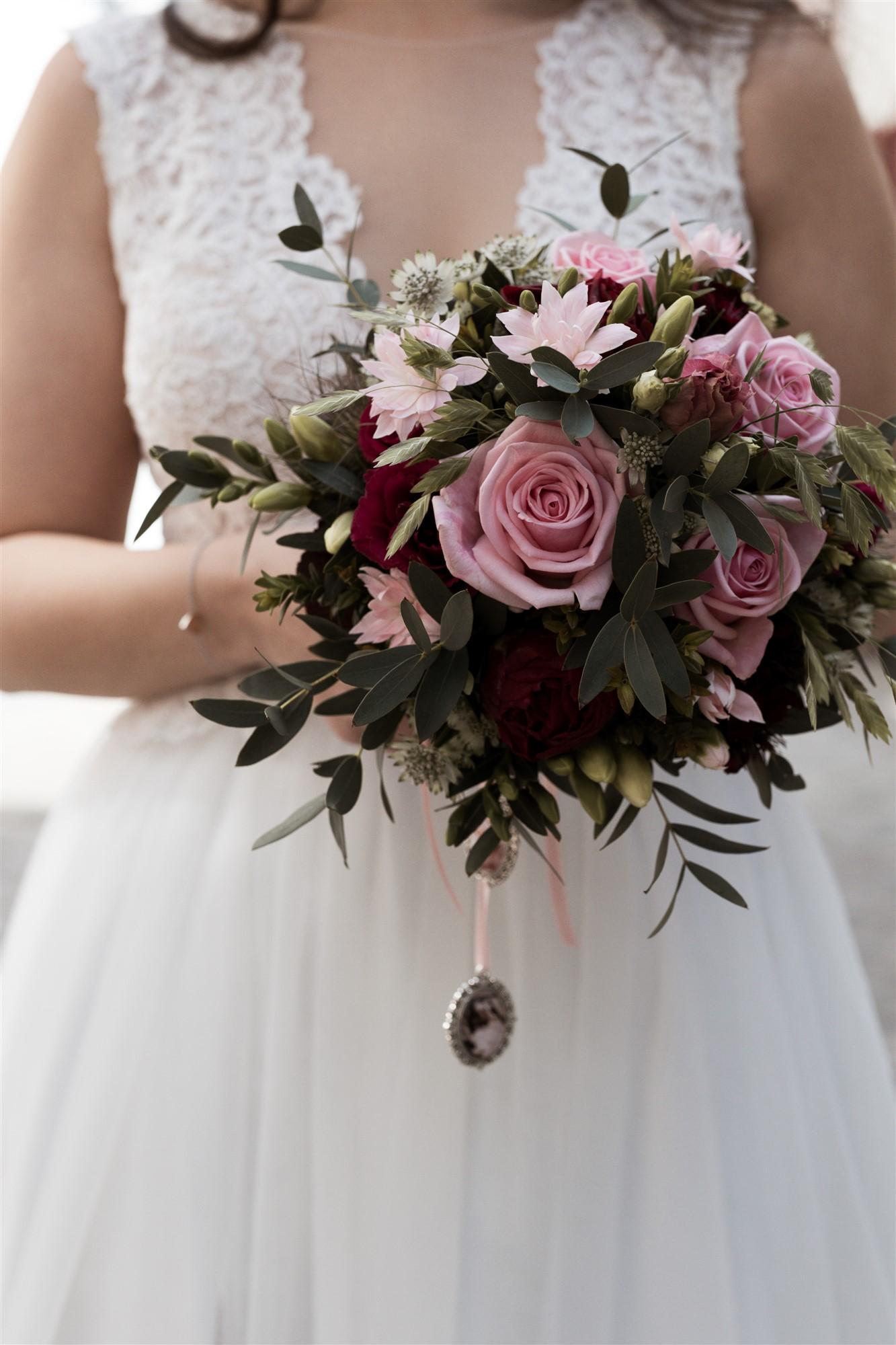 Der schöne Brautstrauss