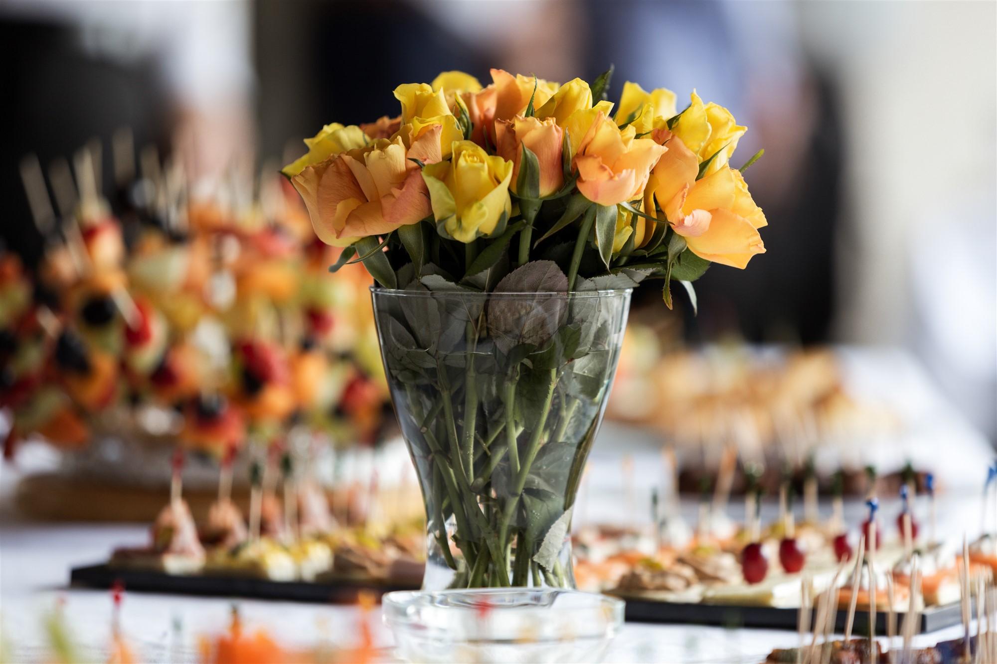 Der Apero Tisch bei der Hochzeit