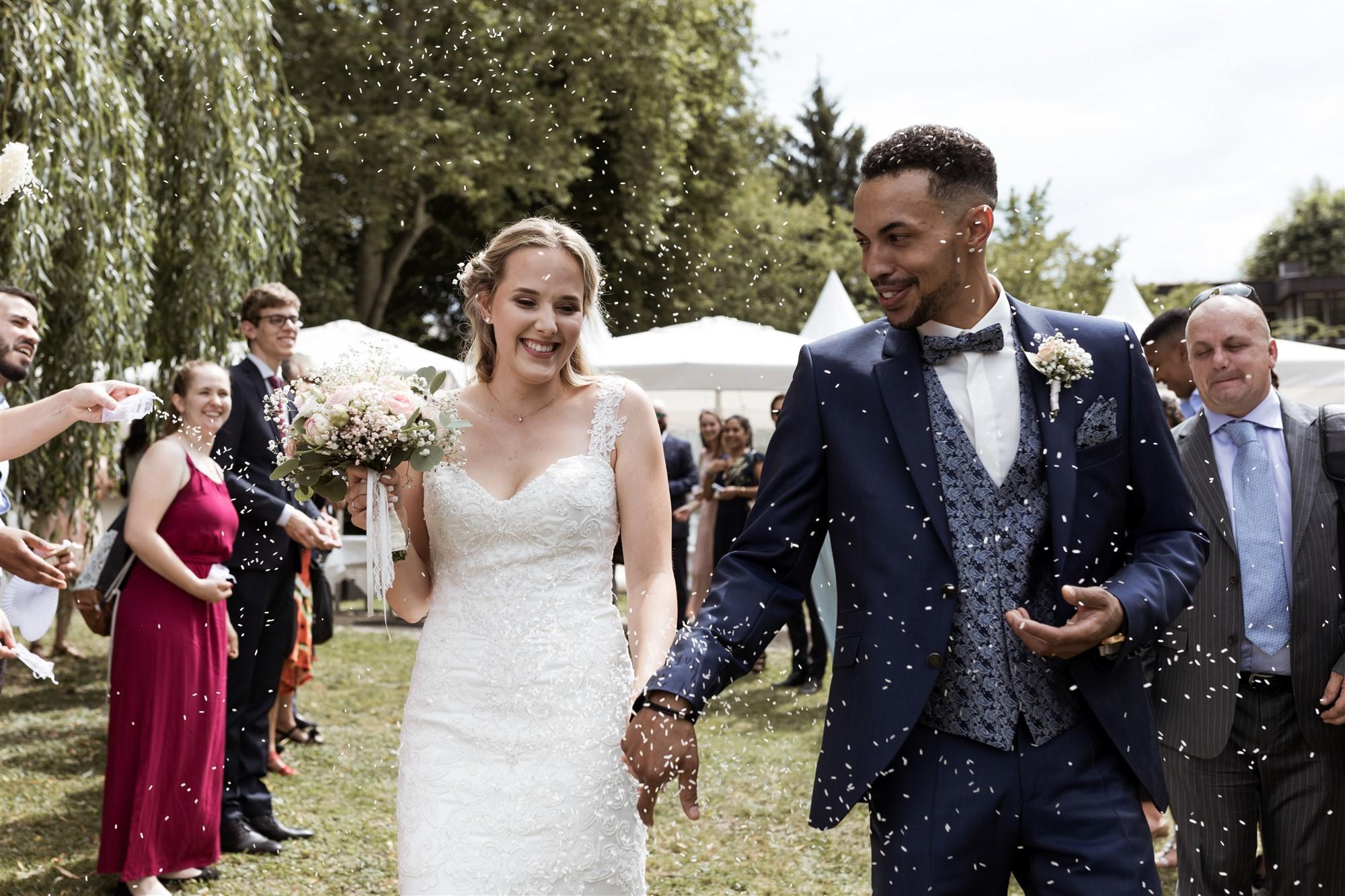 Nathalie und Alpha - Hochzeit im Solbad Pratteln