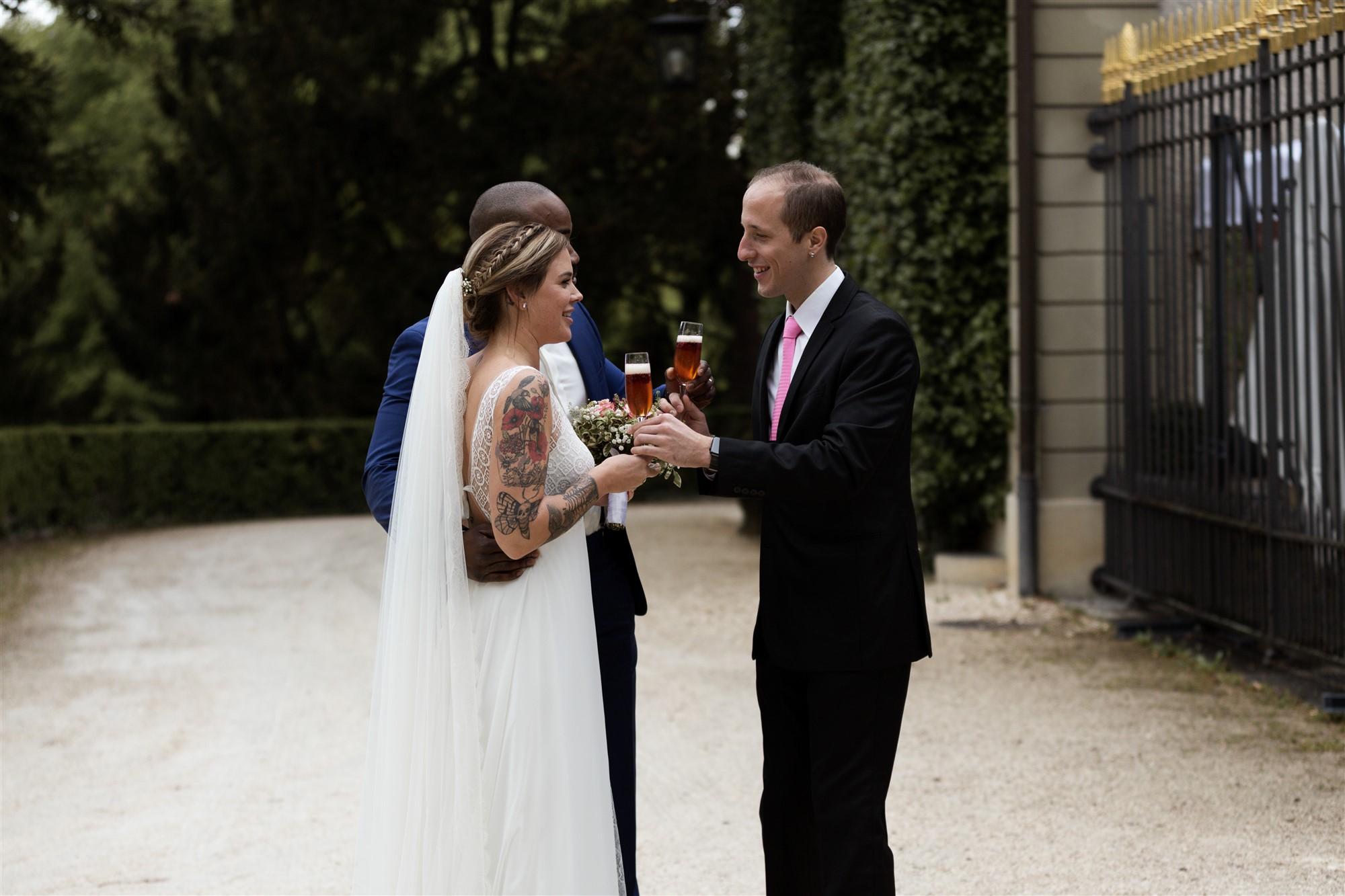 Hochzeitsapero in der Bistro Reithalle