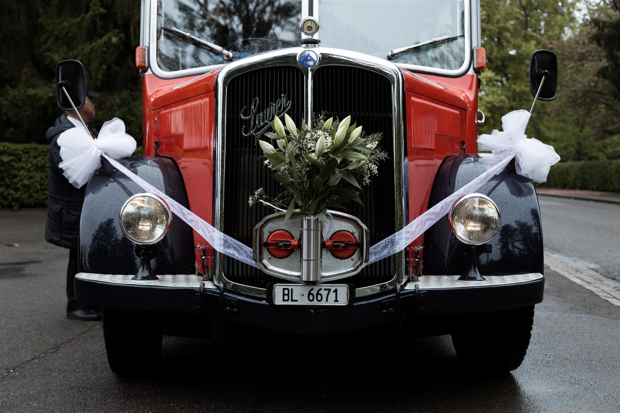 Der Hochzeitsbus