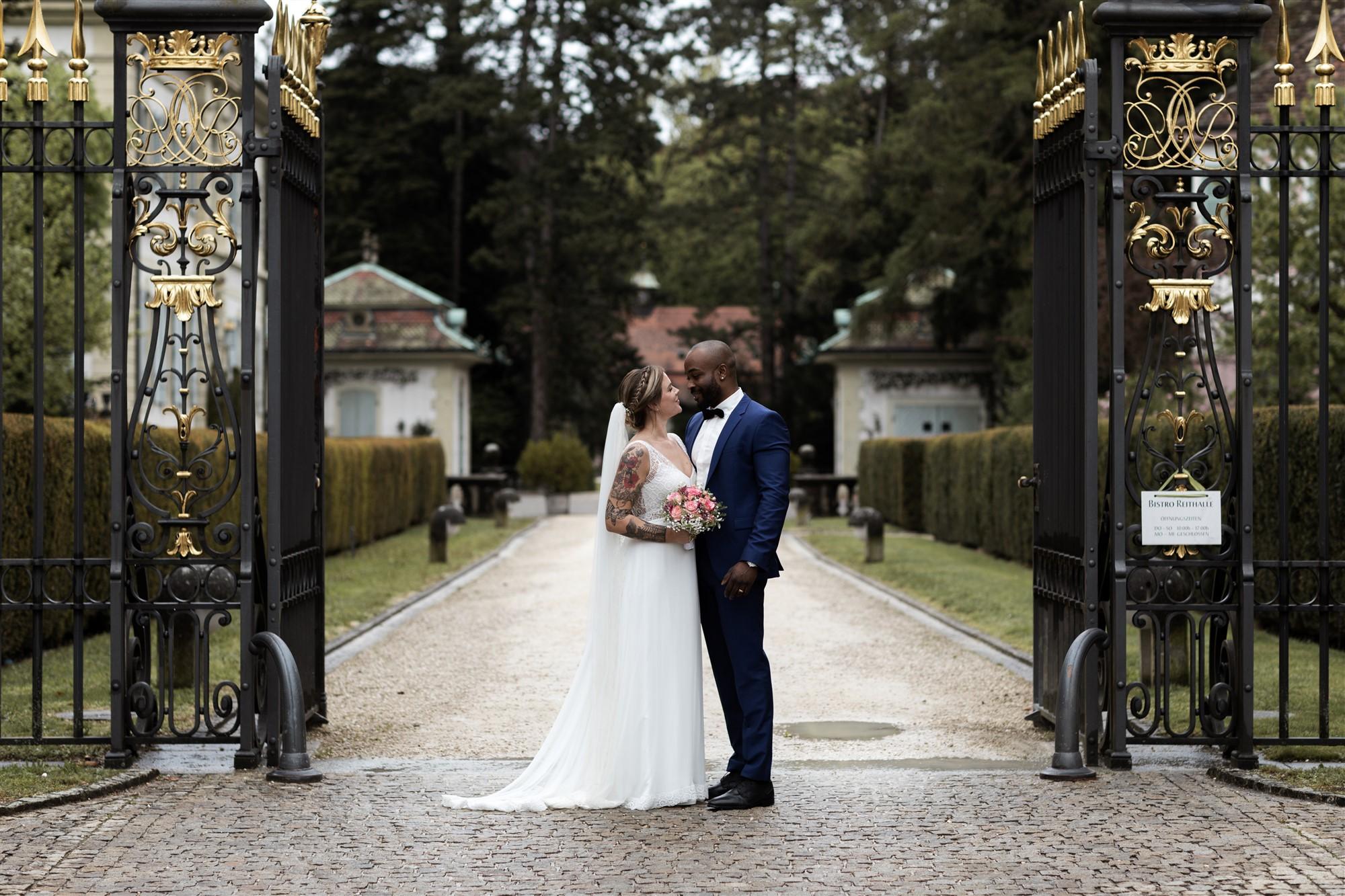 Michelle und Samuel - Hochzeit Bistro Reithalle