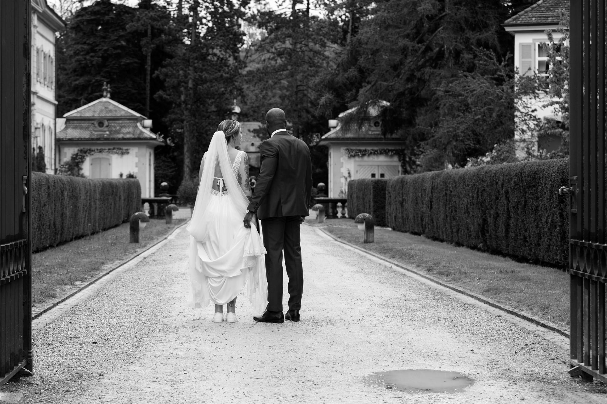 Authentisches und natürliches Brautpaar Fotoshooting