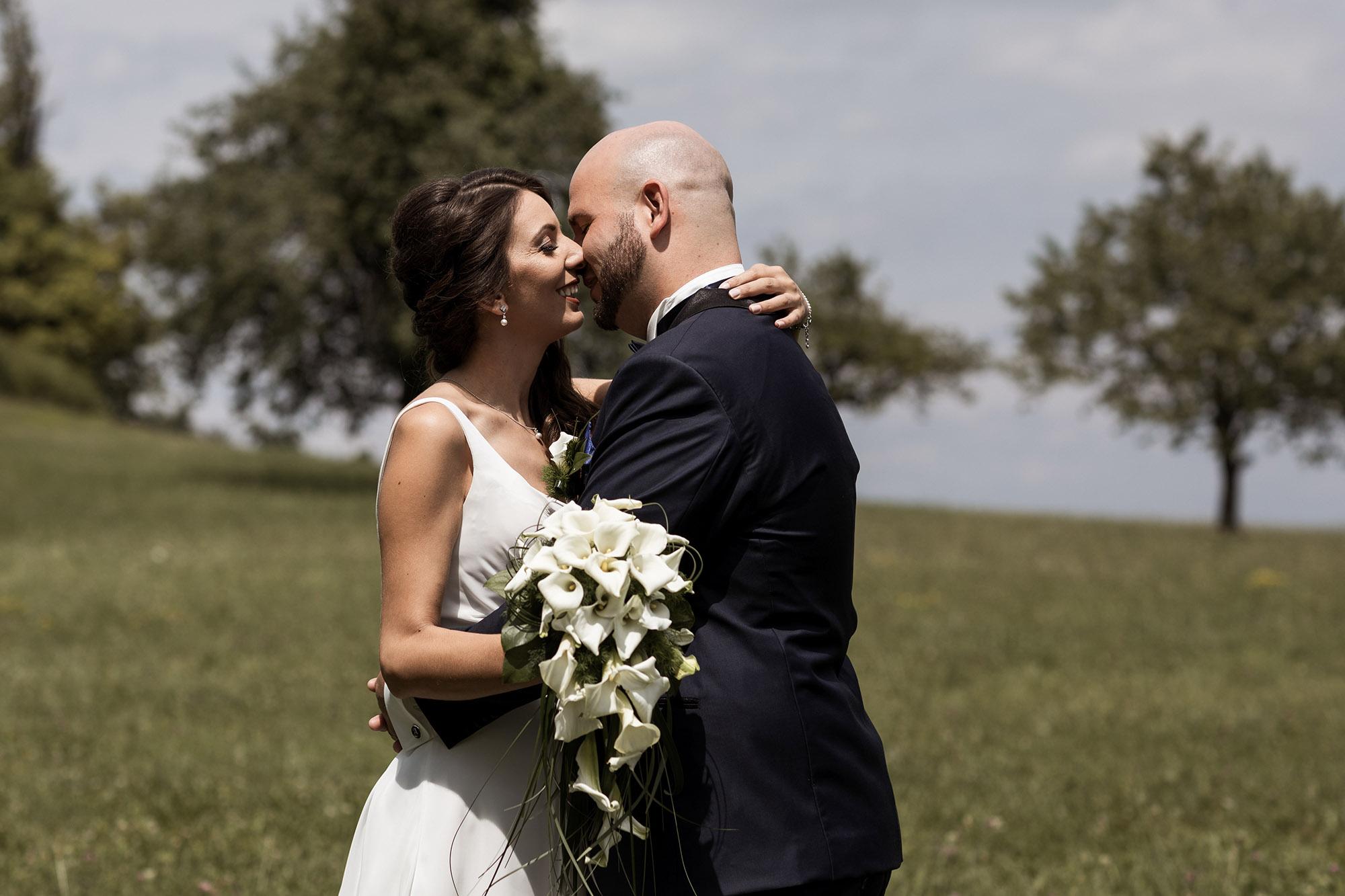 Hochzeit Schloss Wildenstein - Brautpaar Fotoshooting