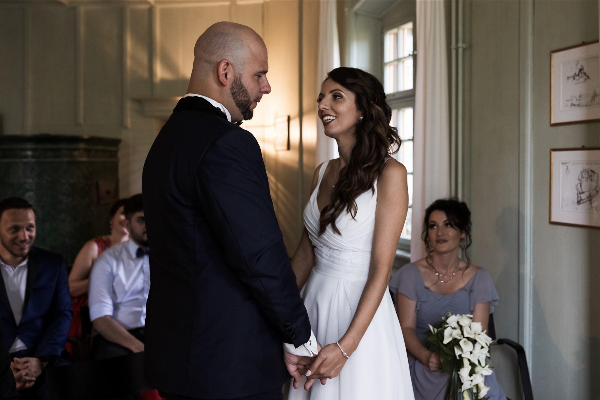 Hochzeit Schloss Wildenstein - Das Eheversprechen des Brautpaares