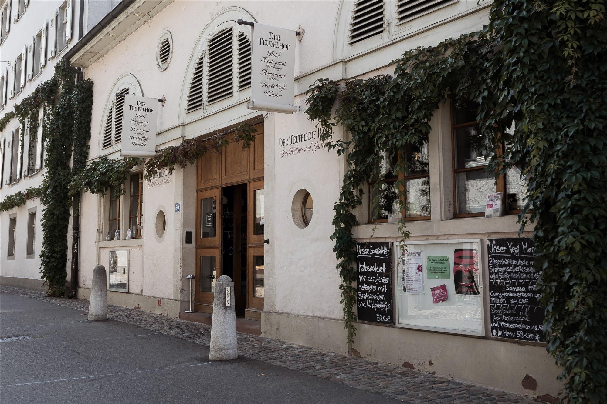 Hotel Restaurant Teufelhof in Basel