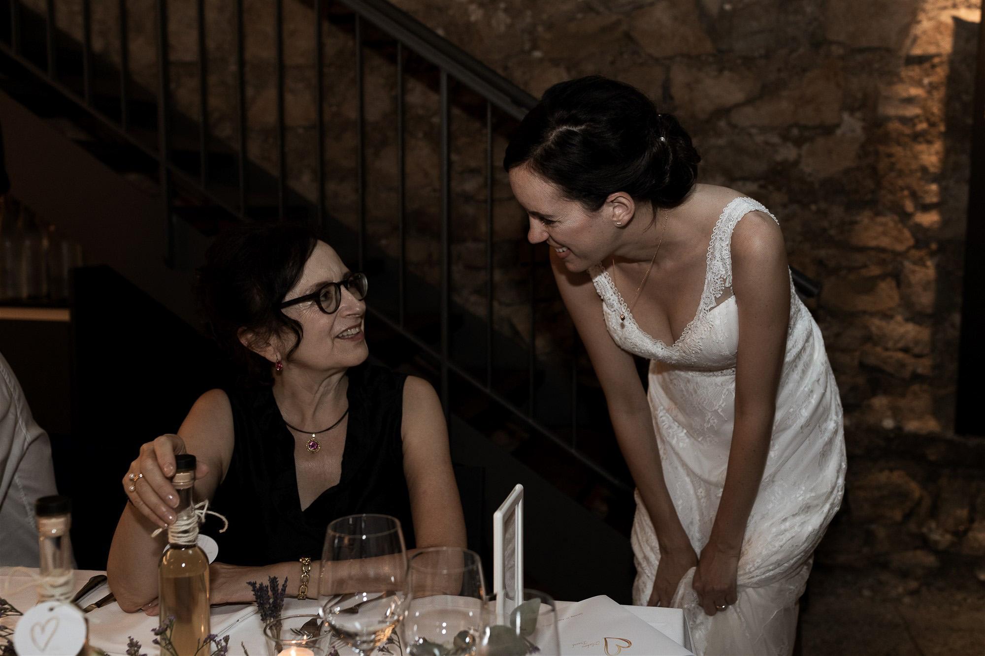 Hochzeit im Teufelhof - Das Hochzeitsfest - Hochzeitsfotografin Basel