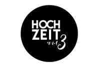 Hochzeit um 3 Logo