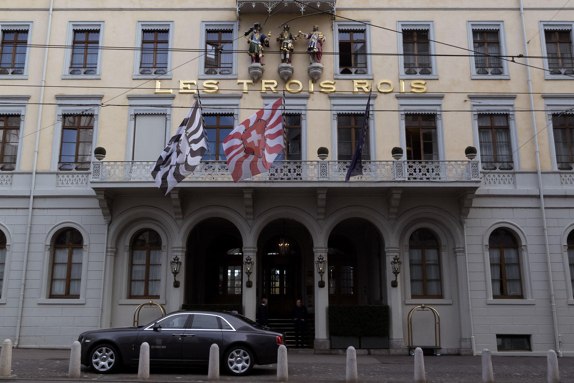 Hochzeitsfotograf Basel Hochzeit Grand Hotel Les Trois Rois Basel