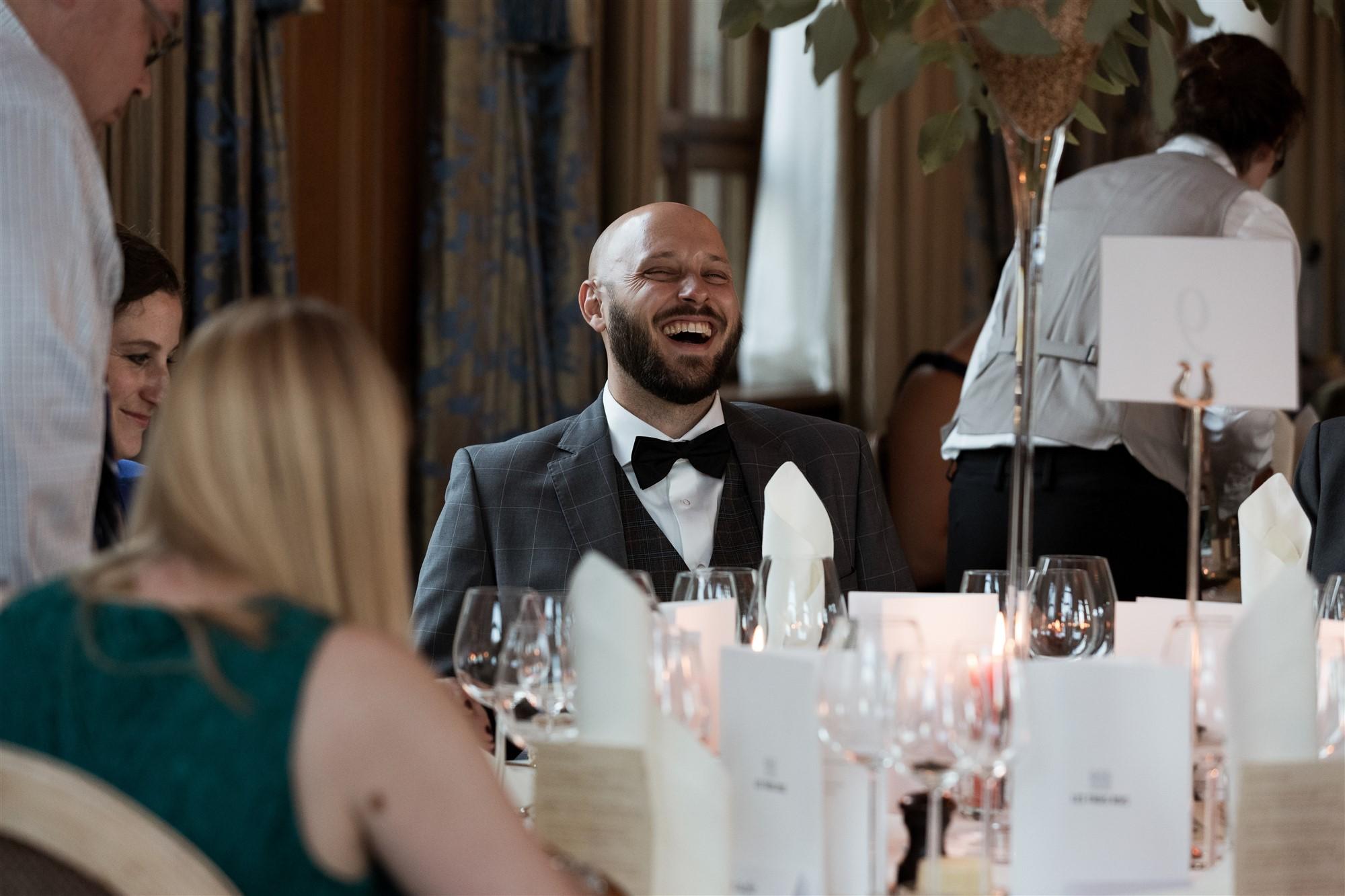 Das Hochzeitsfest im Grand Hotel Les Trois Rois - Location - Hochzeitsgäste - Hochzeitsfotograf Basel