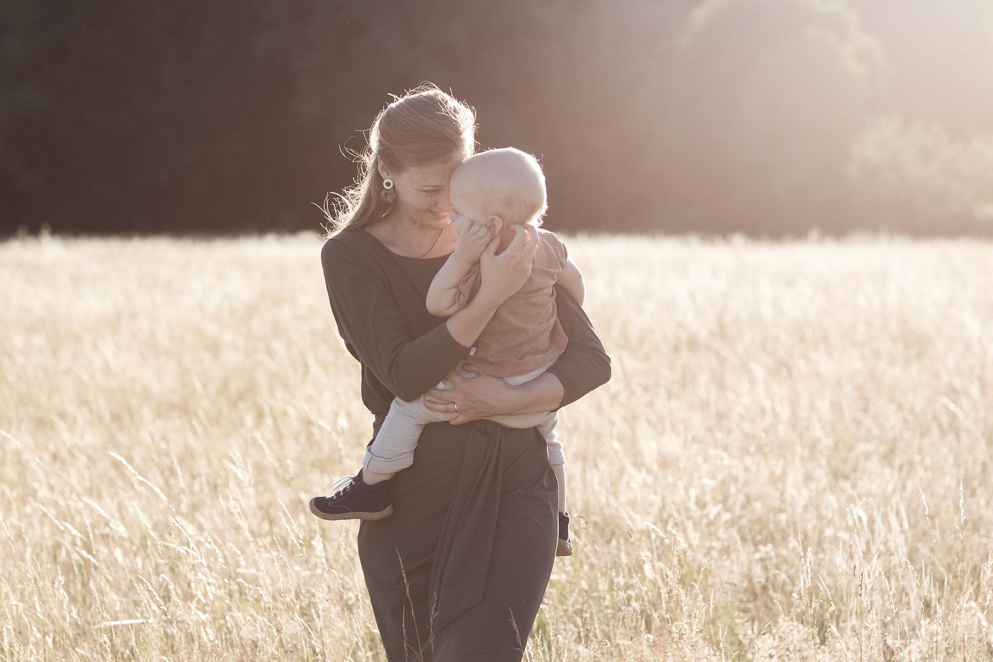 Familien Fotoshooting in Basel - Mama und ihr Kind