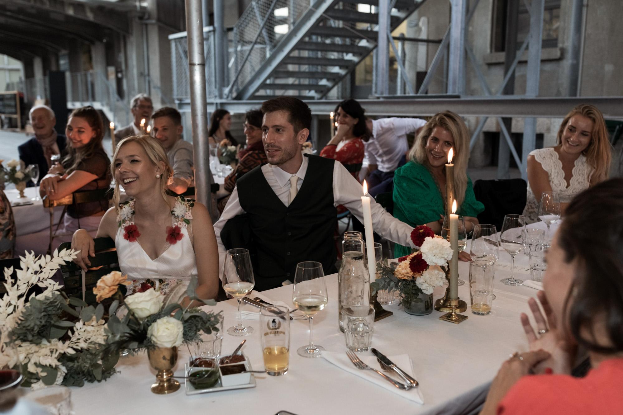 Hochzeit im Turbinenhaus in Basel - Hochzeitsansprache des Brautvater