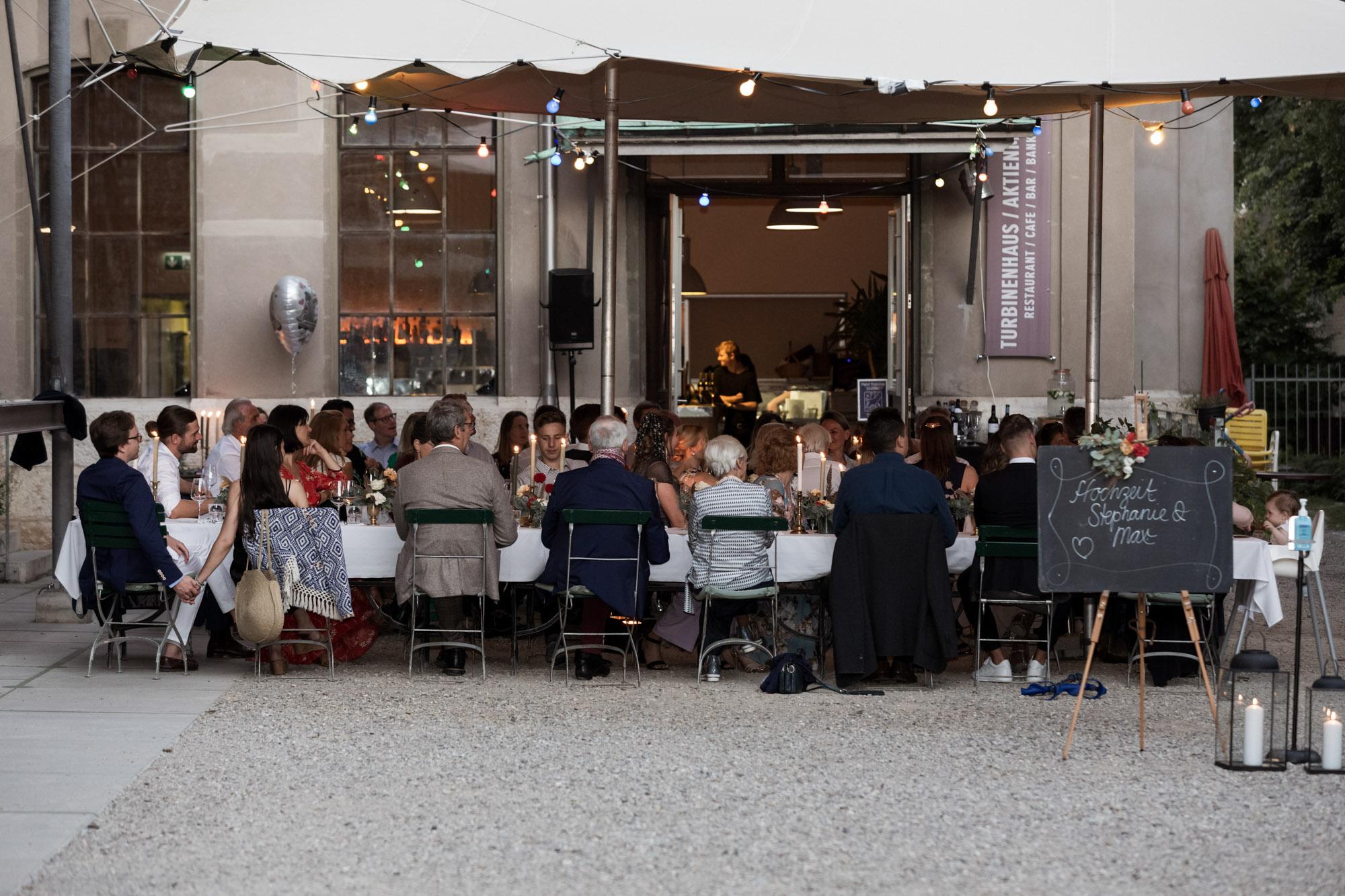 Hochzeit im Turbinenhaus in Basel