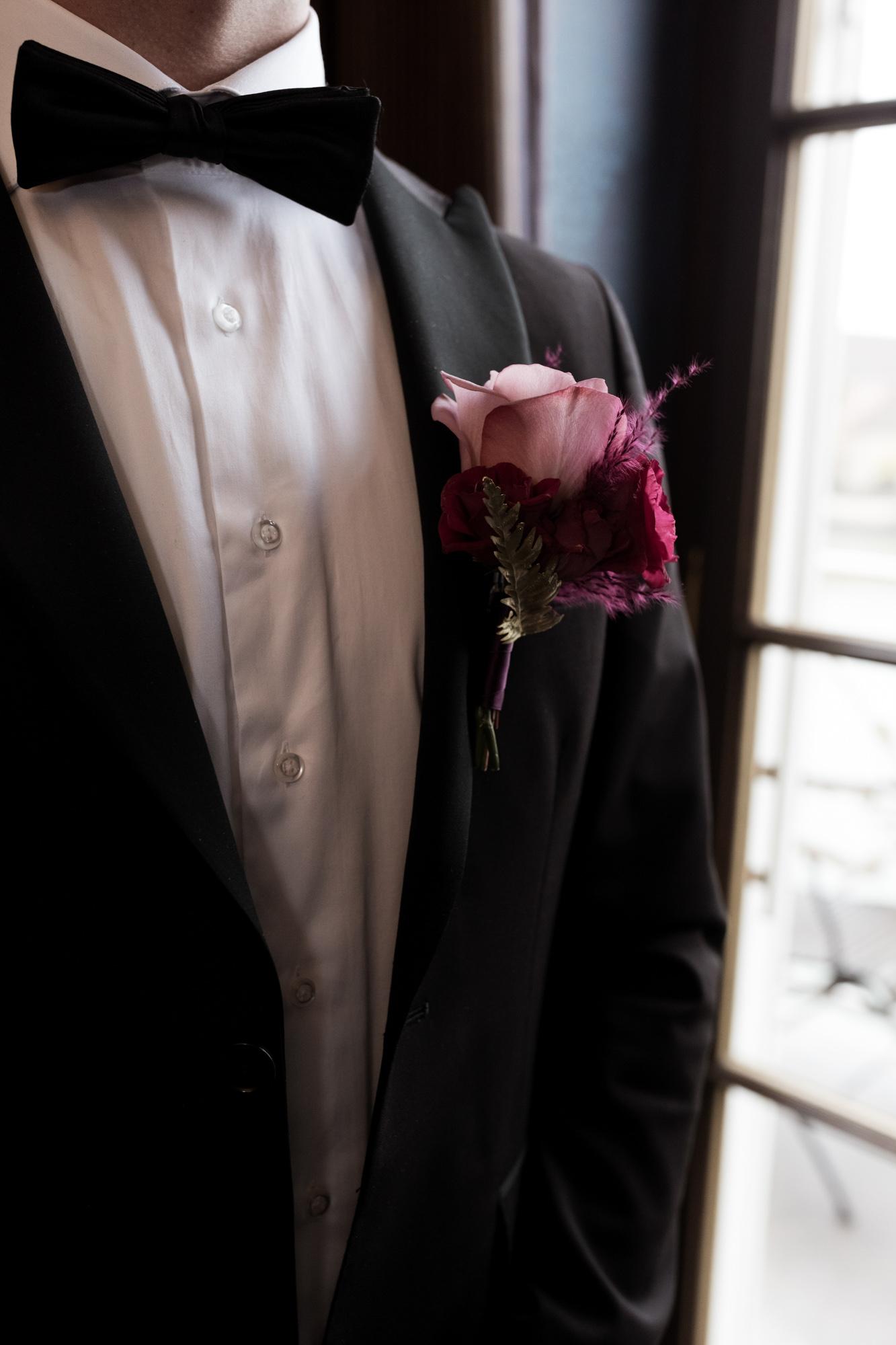Hochzeitsvorbereitung Bräutigam - Hochzeit Grand Hotel Les Trois Rois