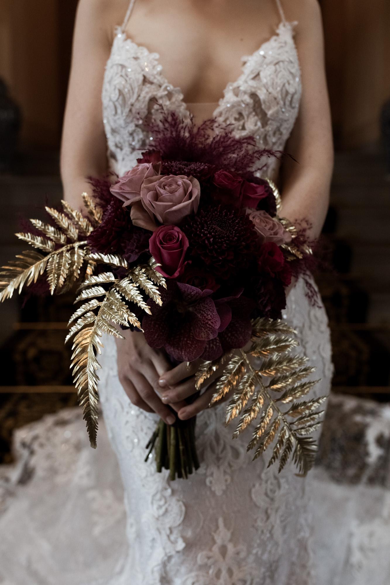 Blumen Hochzeit Fleurs des Rois Basel