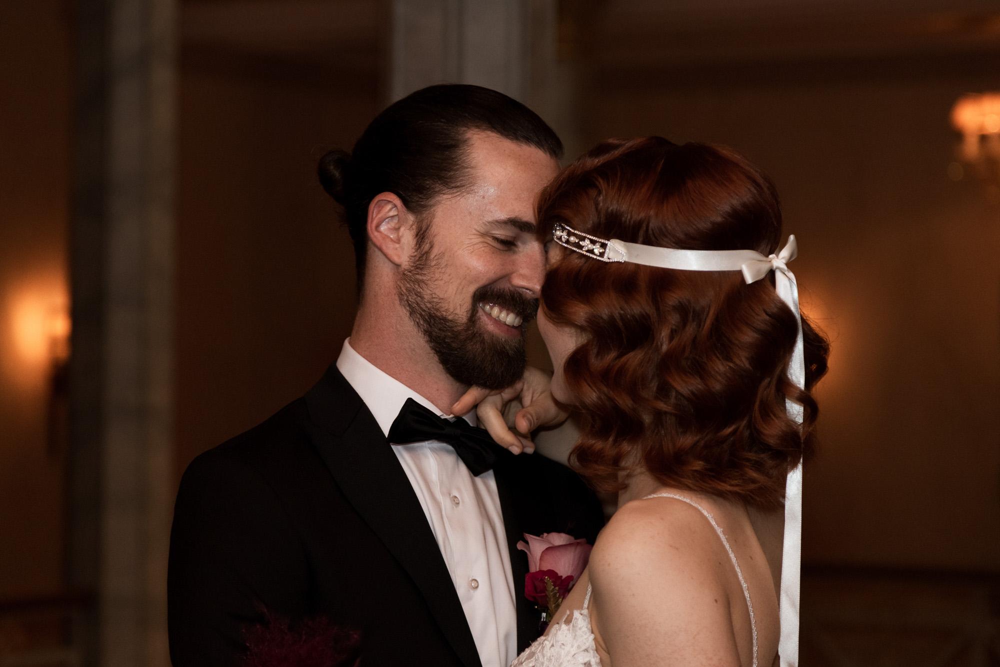 Winter Hochzeit im Grand Hotel Les Trois Rois Basel