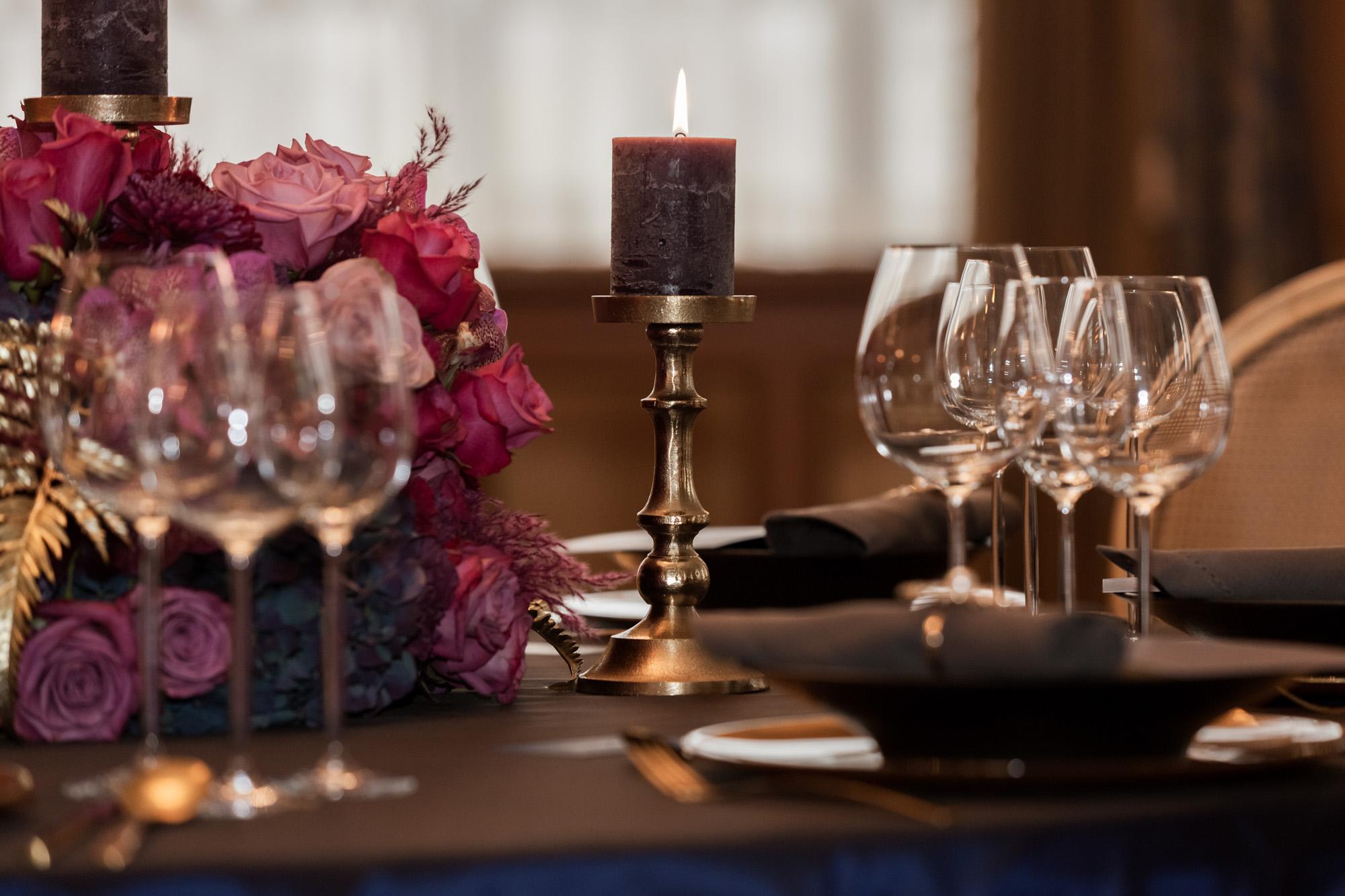 Hochzeit im Grand Hotel Les Trois Rois Basel - Hochzeitsdekoration