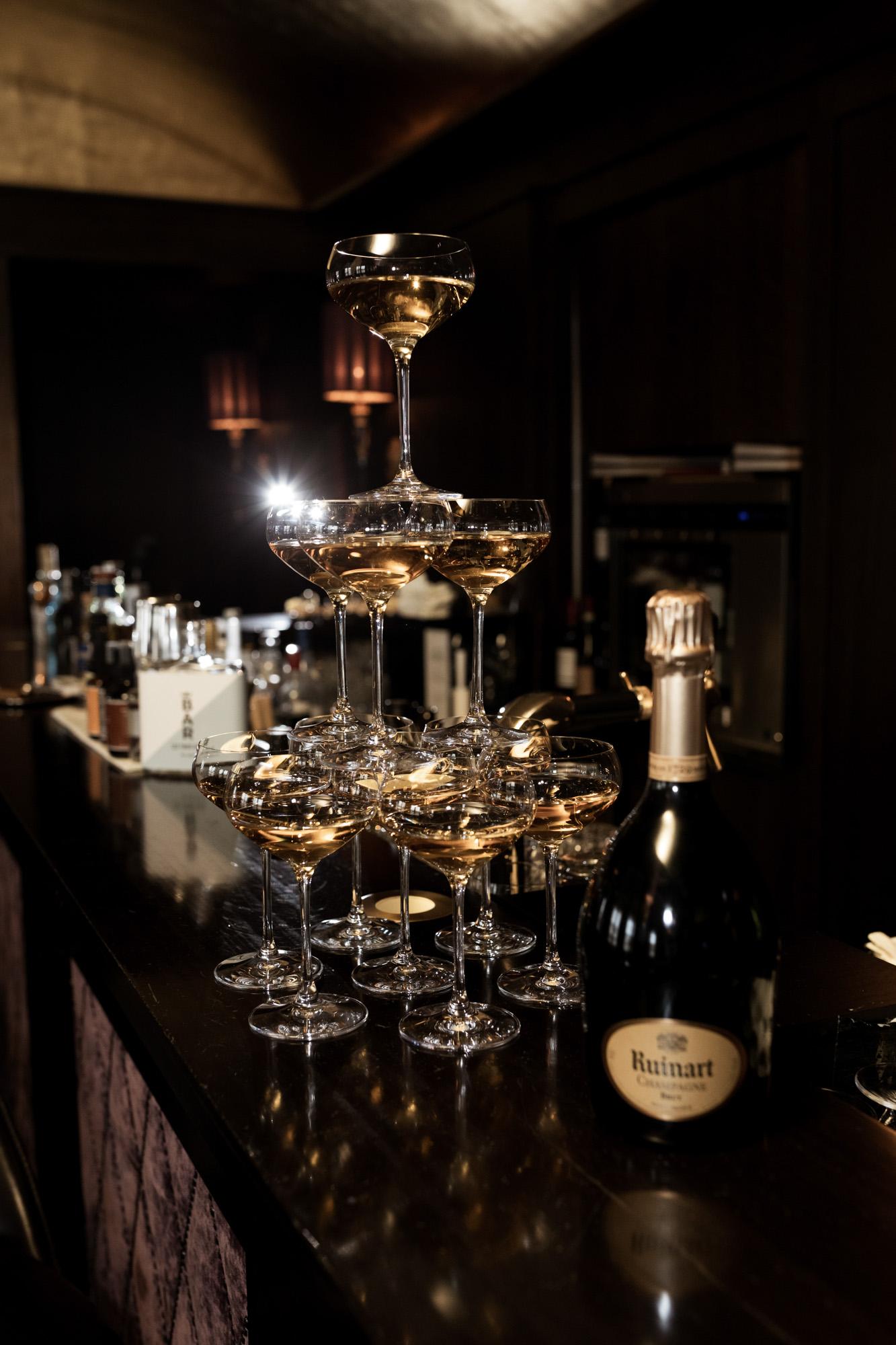 Hochzeit im Grand Hotel Les Trois Rois Basel - Zigarren Lounge und Bar