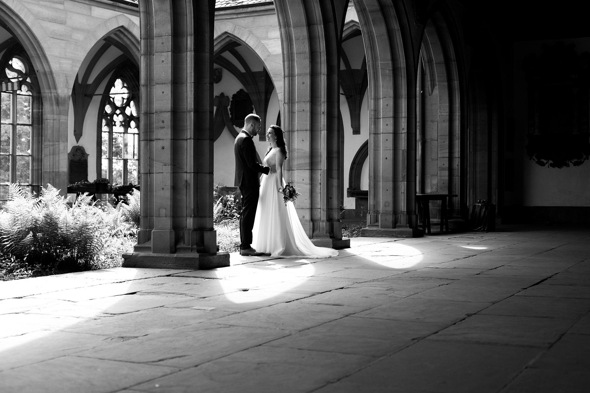 Das Brautpaar im Basler Münster