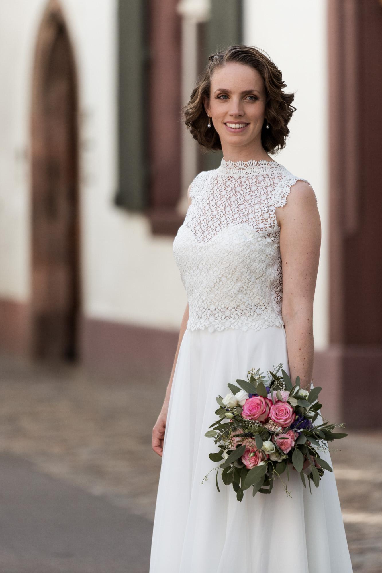 Die wunderhübsche Braut - Heiraten in Basel - Hochzeitsfotografin Basel