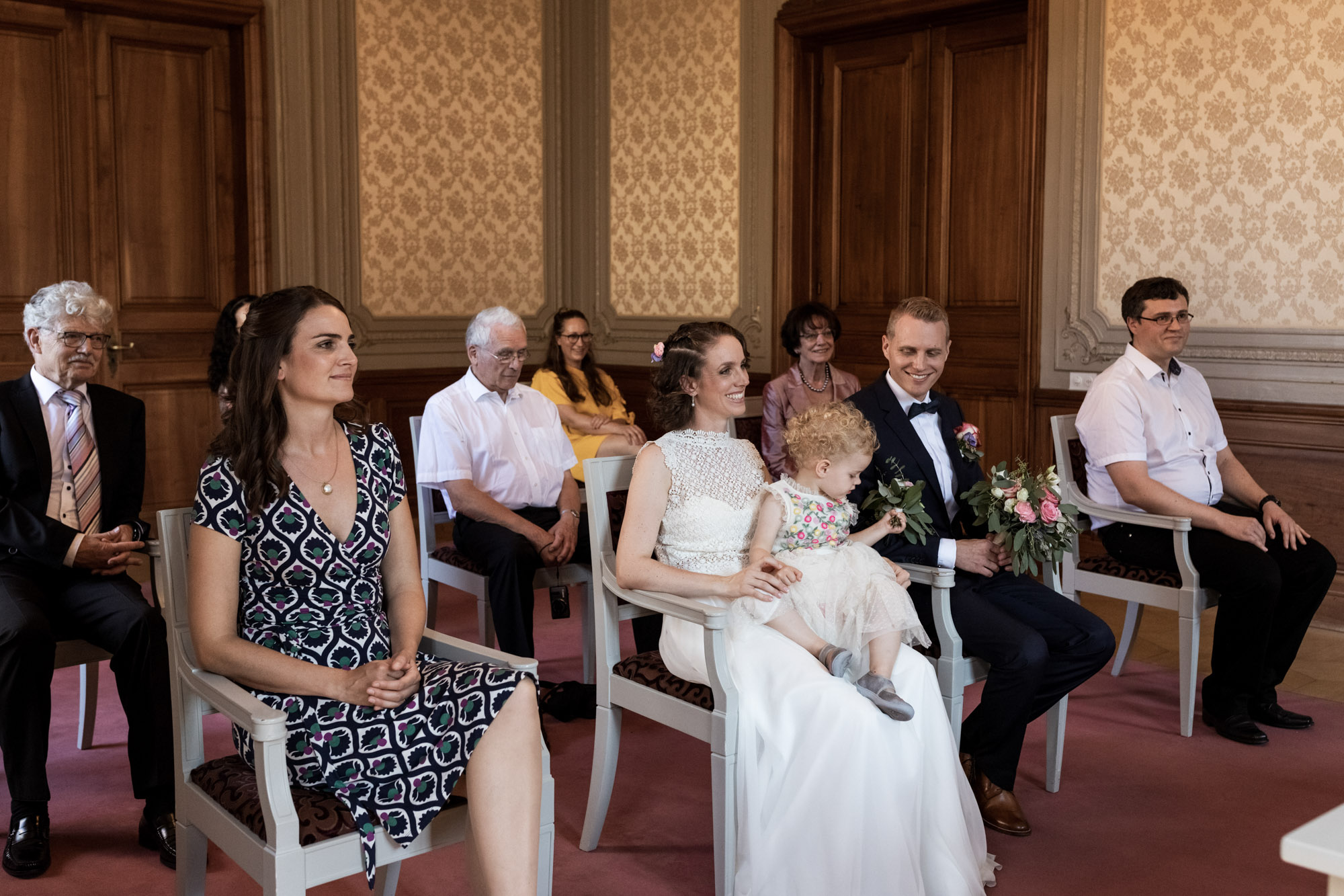 Zivile Trauung in Basel - Hochzeitsfotografen Basel