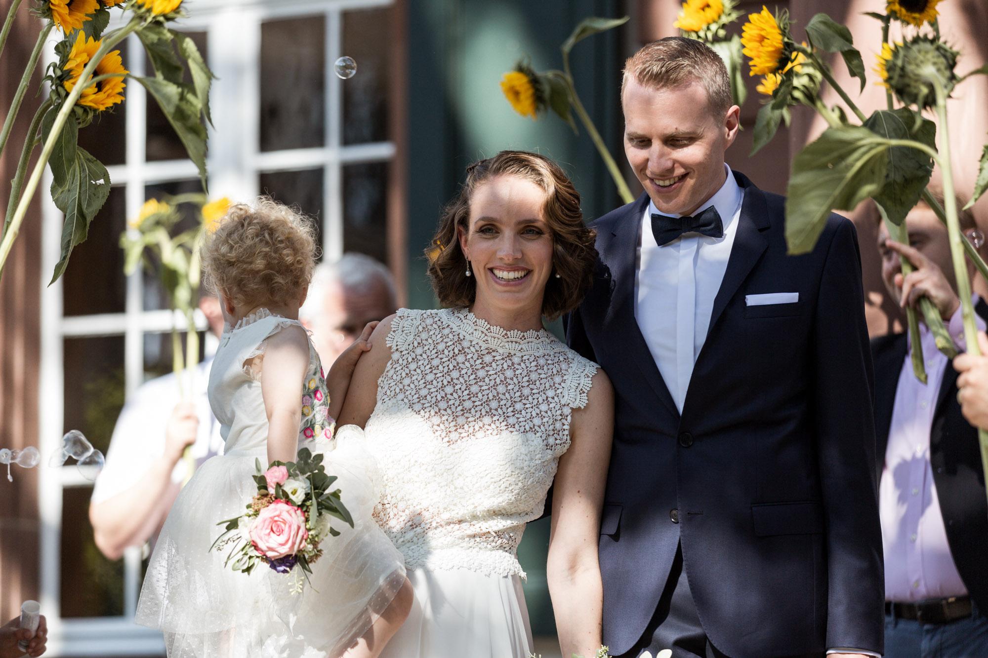 Eva und Chris - Zivile Hochzeit in Basel - Hochzeitsfest in Riehen