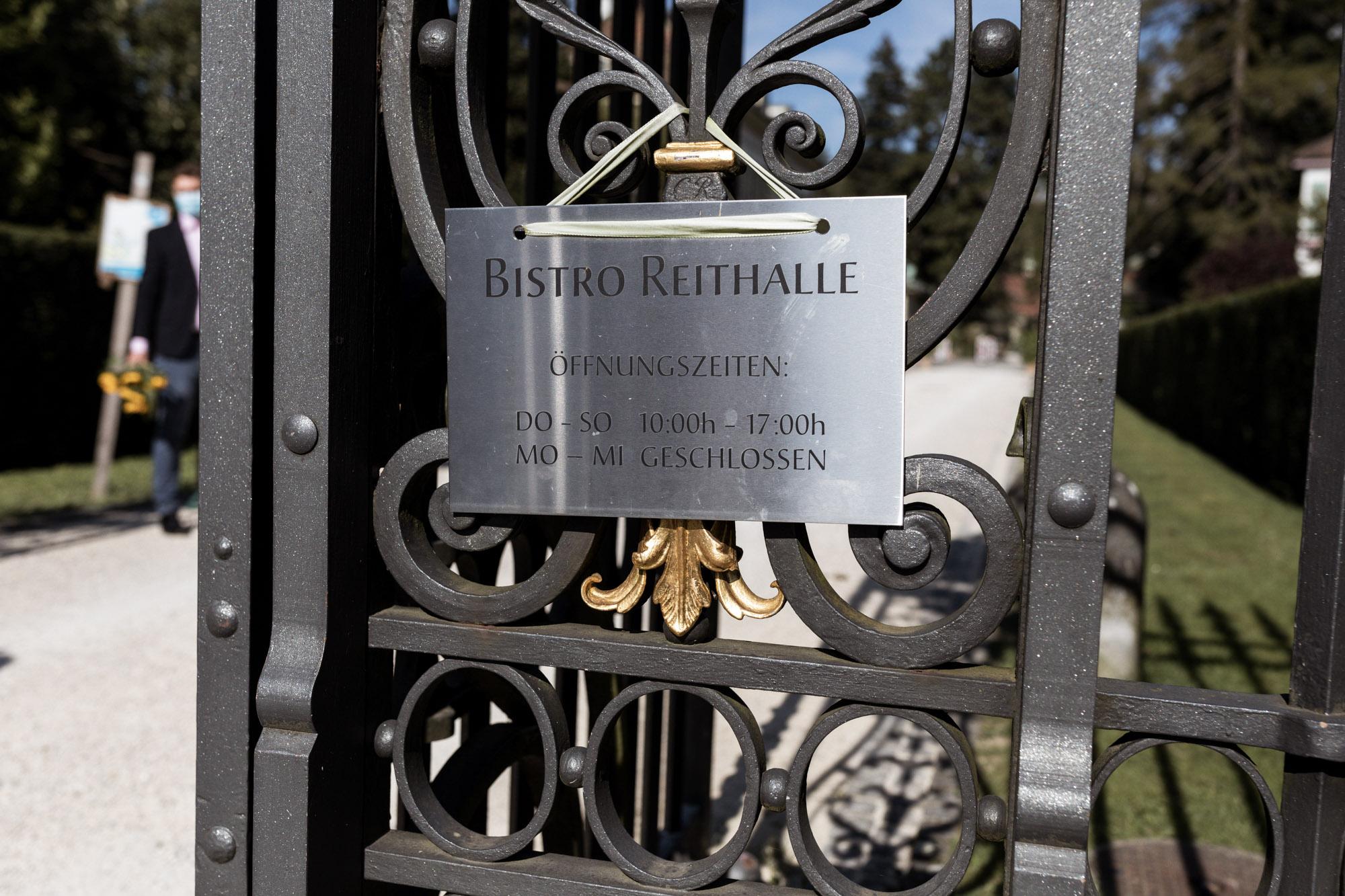 Bistro Reihalle - Wenkenpark Hochzeitslocation - Hochzeitsfotografen Basel