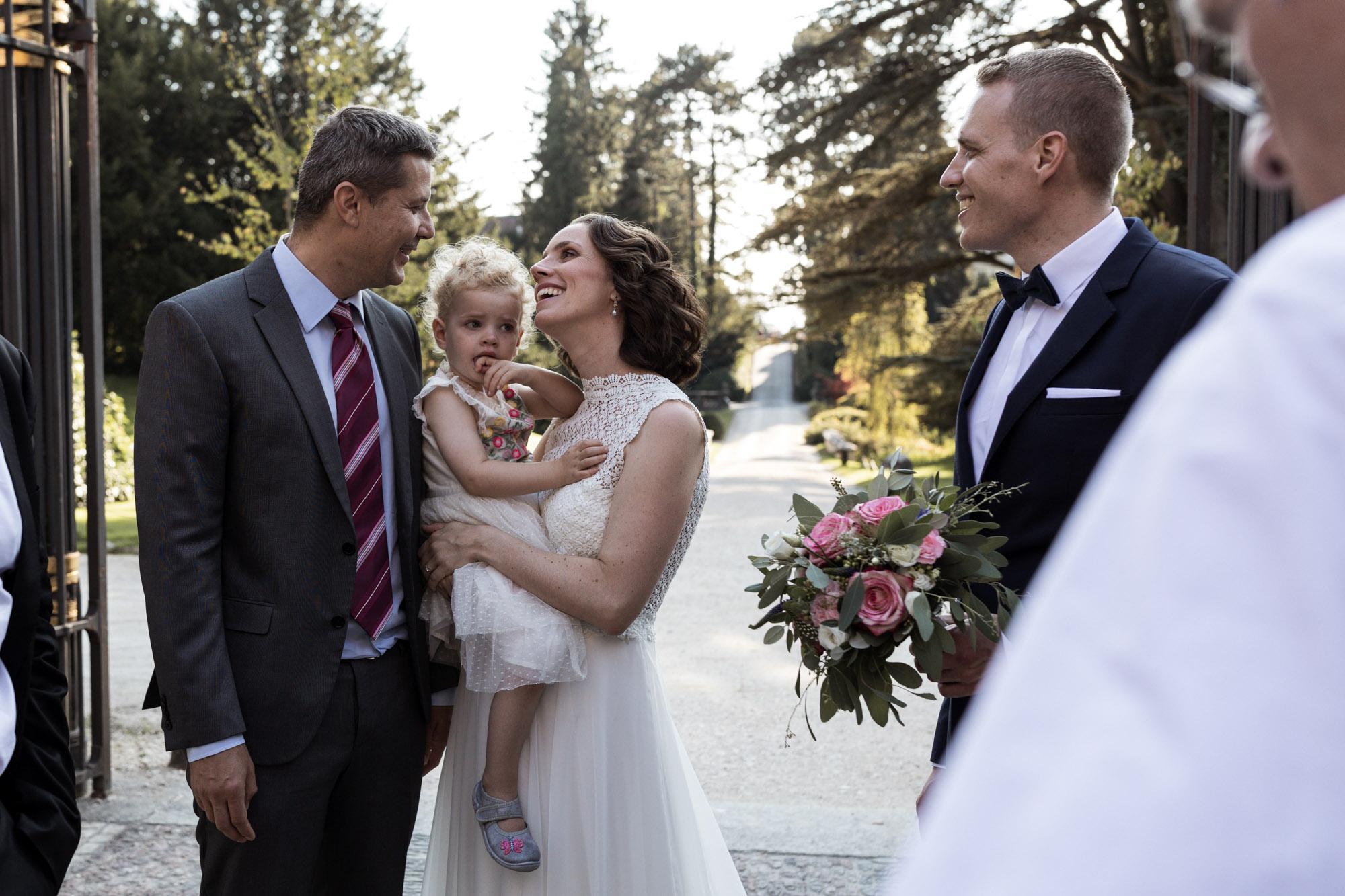 Sommer Hochzeitsfest im Wenkenhof in Riehen - Hochzeitsfotograf Basel