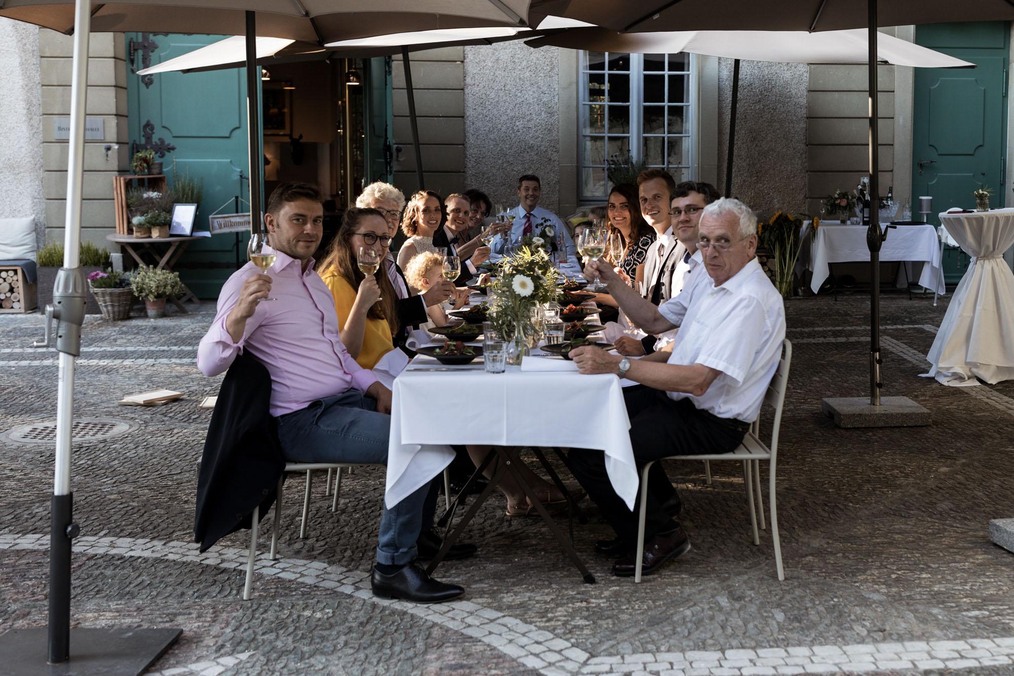 Hochzeitsfest im Wenkenhof in Riehen - Hochzeitsfotograf Basel